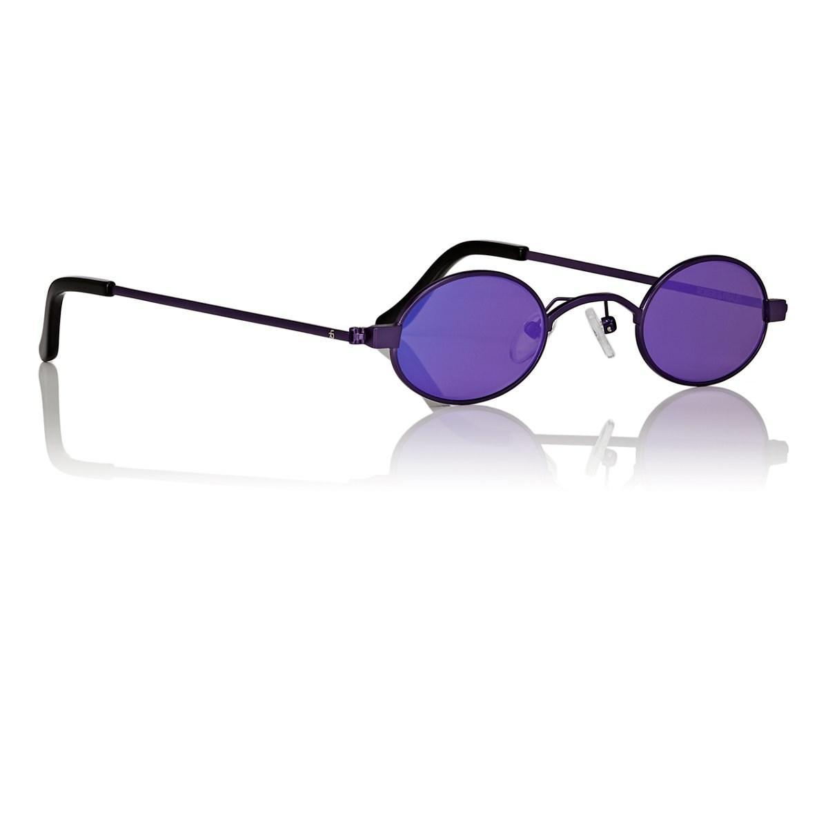1fcfa8566ef44 ROBERI AND FRAUD - Purple Doris Sunglasses - Lyst. View fullscreen