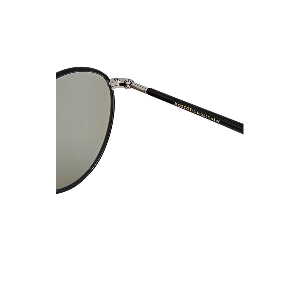 c2b30c8b2eef0 Moscot - Black Zev Sunglasses for Men - Lyst. View fullscreen