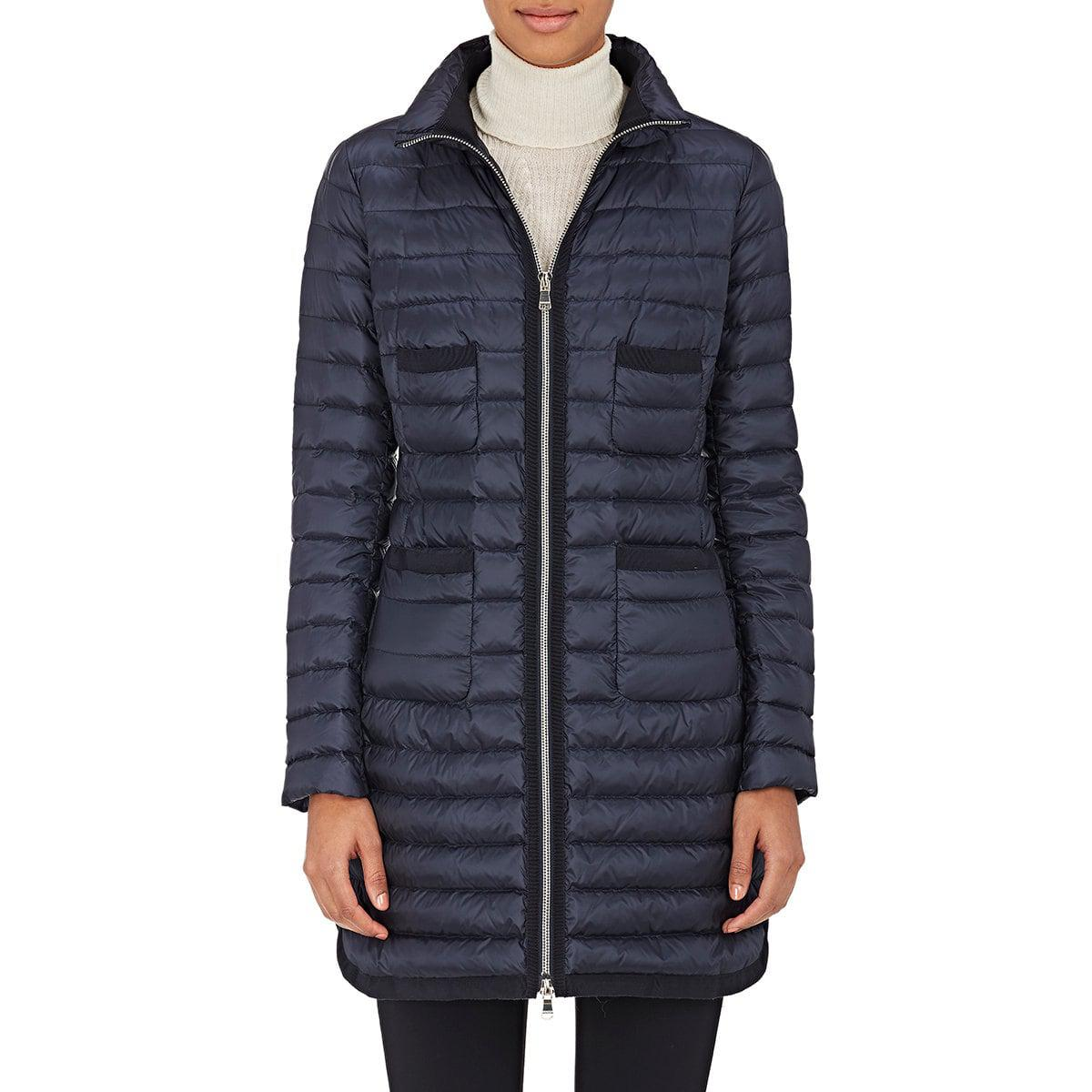 f83d93fd3 spain moncler ruffle detail hooded puffer coat king 9a5fe 1fc1c