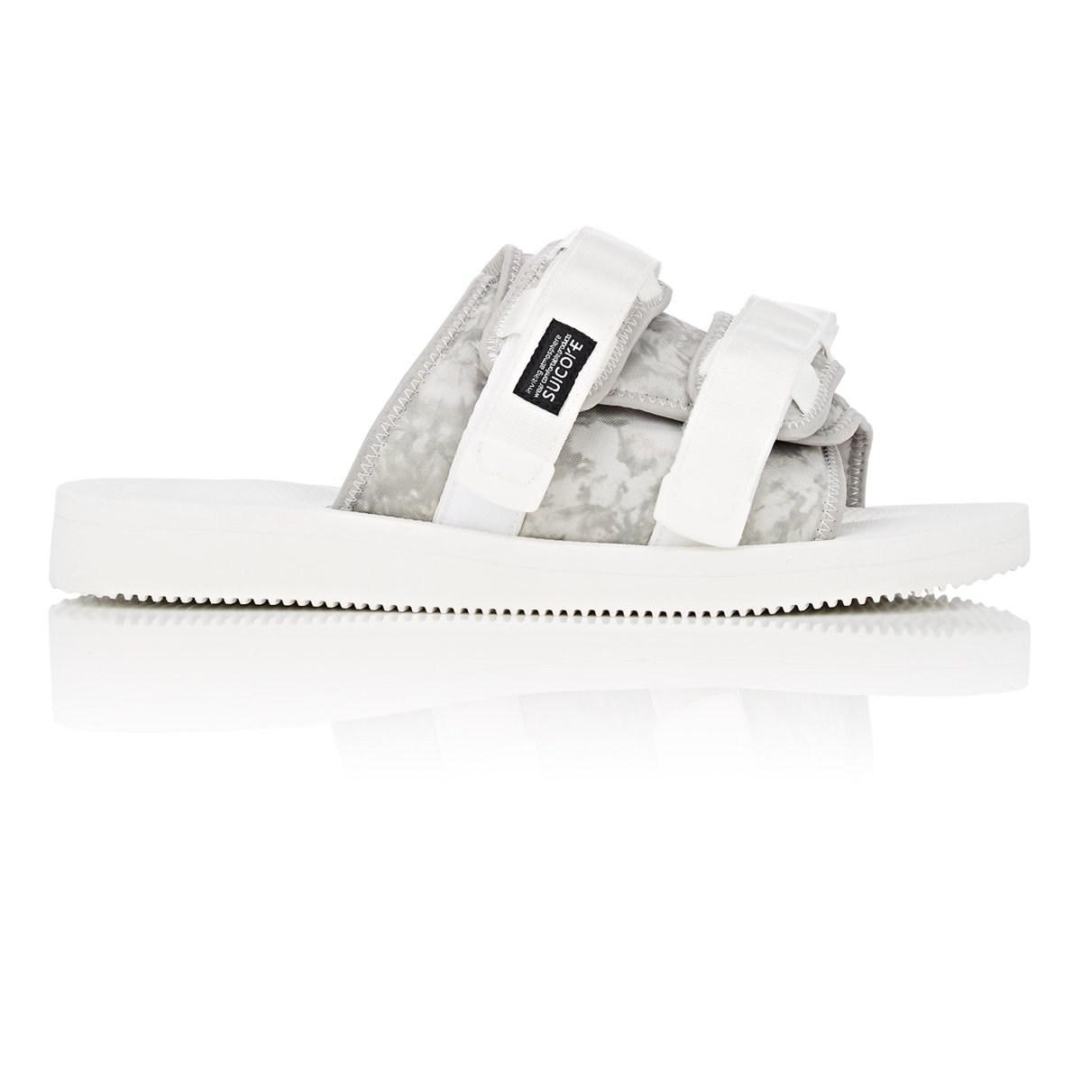 d3378ba77da7 Lyst - John Elliott Double-strap Nylon Slide Sandals in White for Men