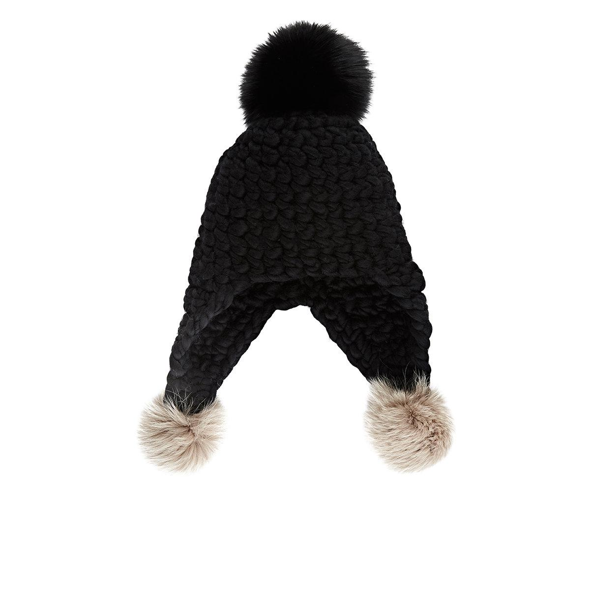 Womens Triple Trouble Wool Hat Mischa Lampert ttNT3FC