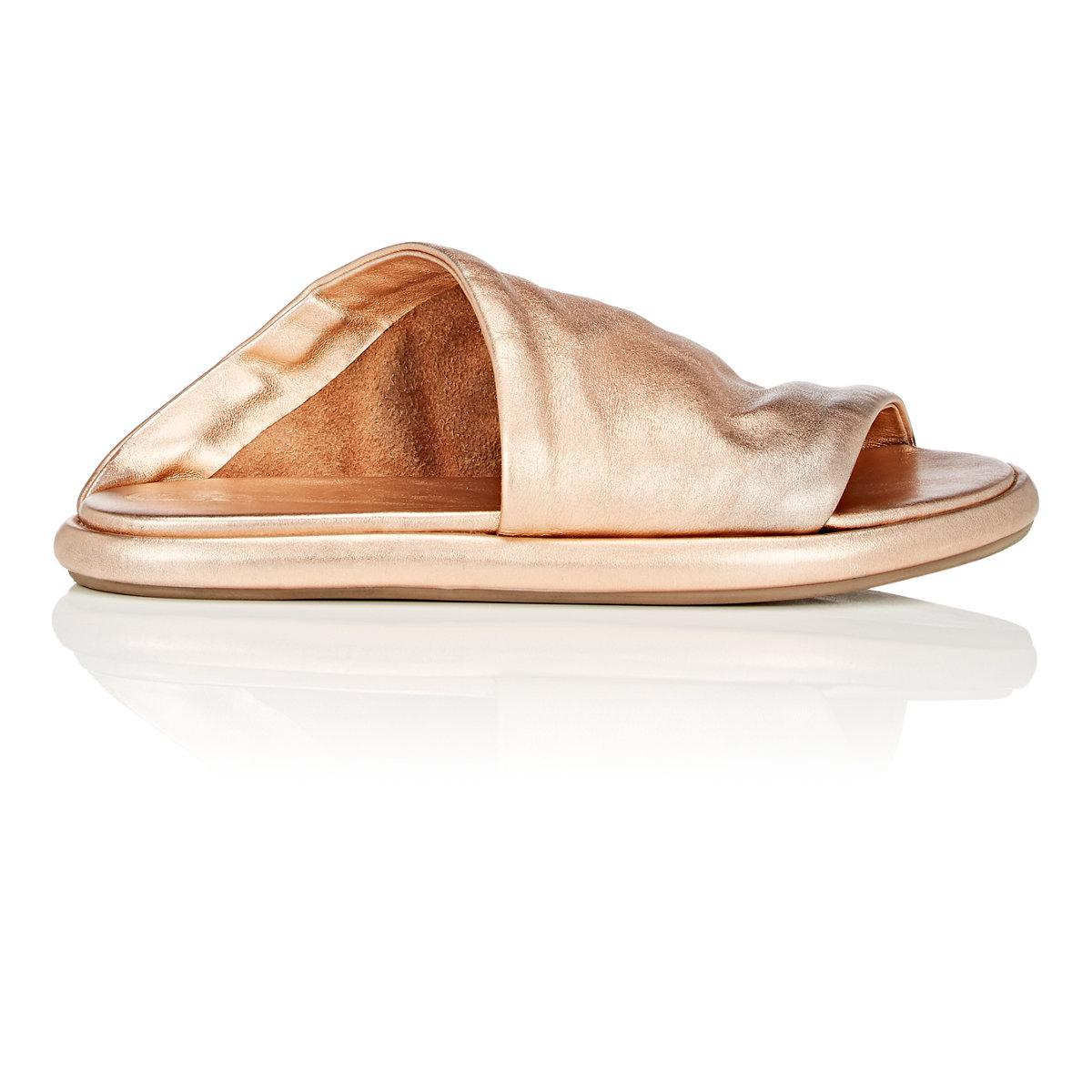 discount sast authentic for sale Marsèll Metallic Slide Sandals outlet clearance store new styles cheap online T1BKDQ3