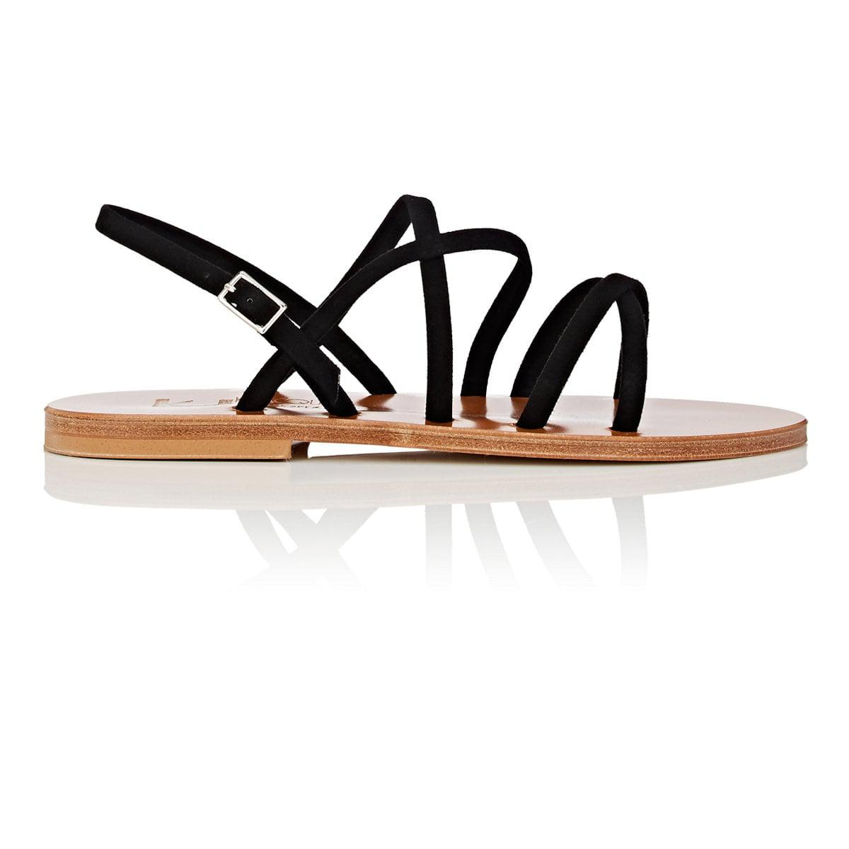 Womens Datura Metallic Suede Sandals K.Jacques kSTMXboZcM