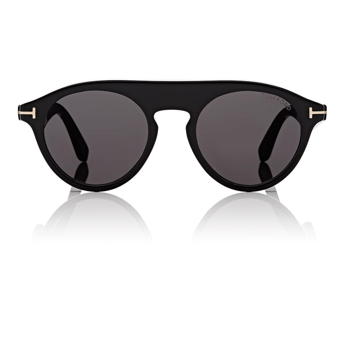b47a2be58428 Lyst - Tom Ford Christopher Sunglasses in Black