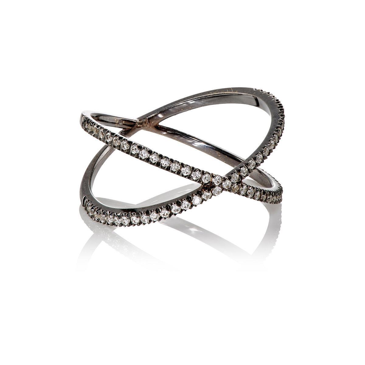 Eva Fehren The Fine Shorty ring - Metallic KjeY0yY