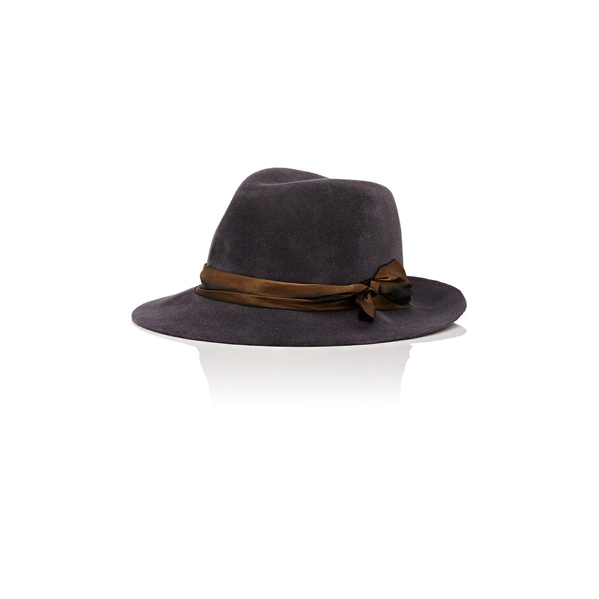 756111f7fc0 Lyst - Lola Hats Mishap Rabbit Fur Felt Fedora in Gray for Men