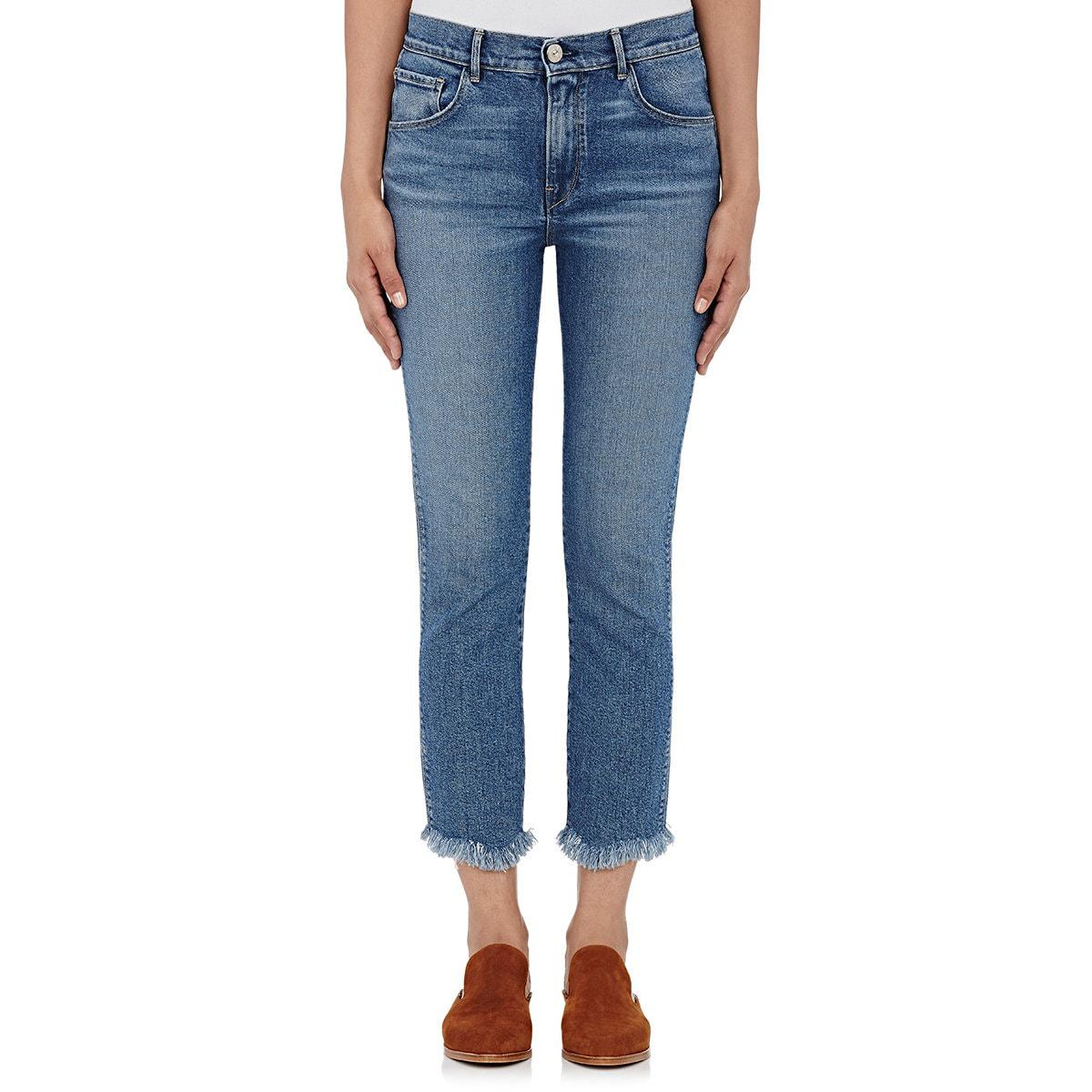 Femmes De Grande Hauteur Jeans Culture Authentique Droit 3x1 Yqb35QR