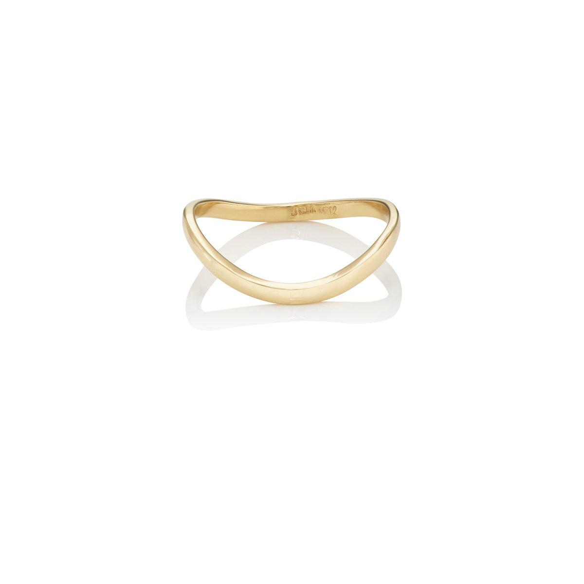 Jennifer Meyer Womens Heart Wire Ring hyNdIFztS