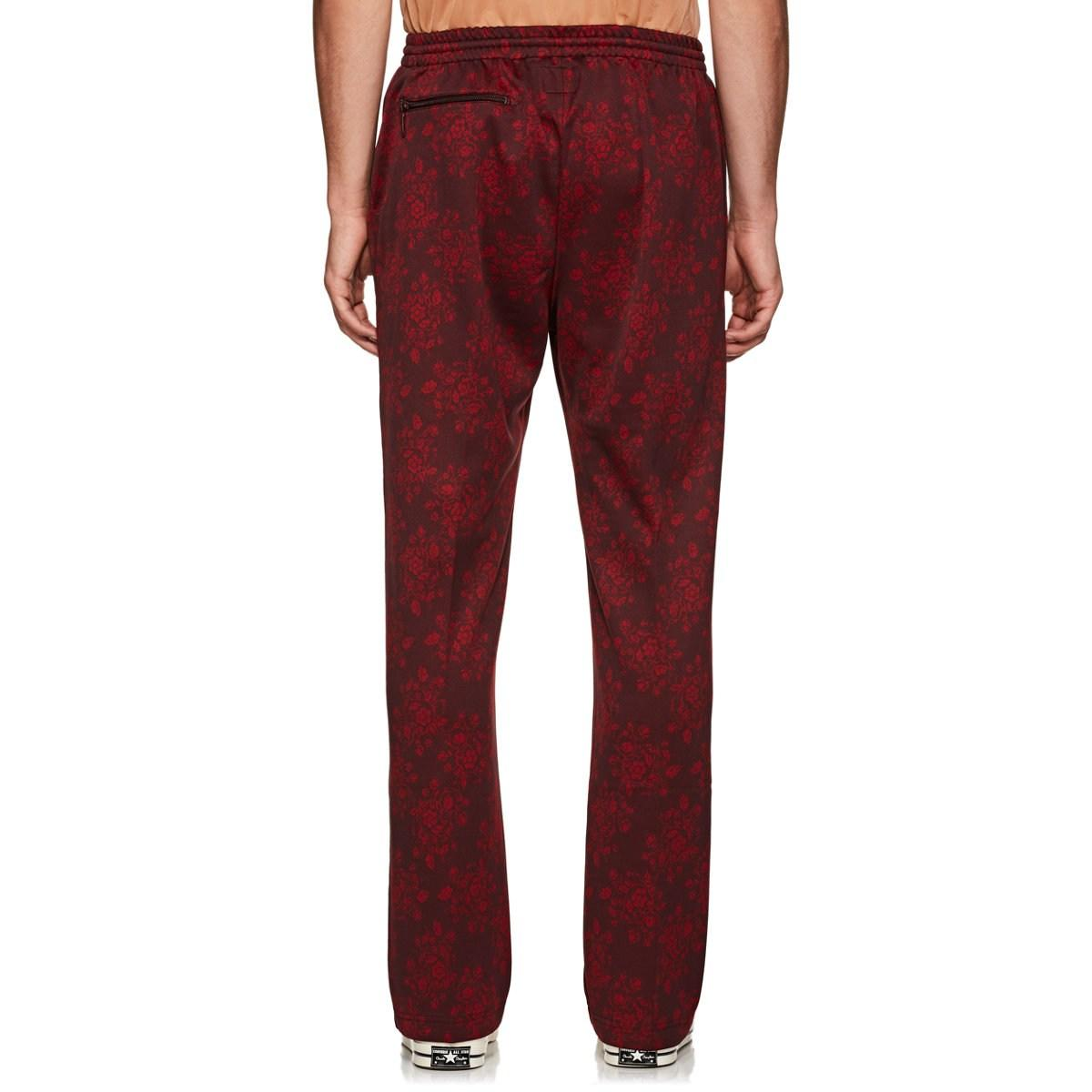 bc9778aeba5093 Needles Floral Jersey Track Pants in Red for Men - Lyst