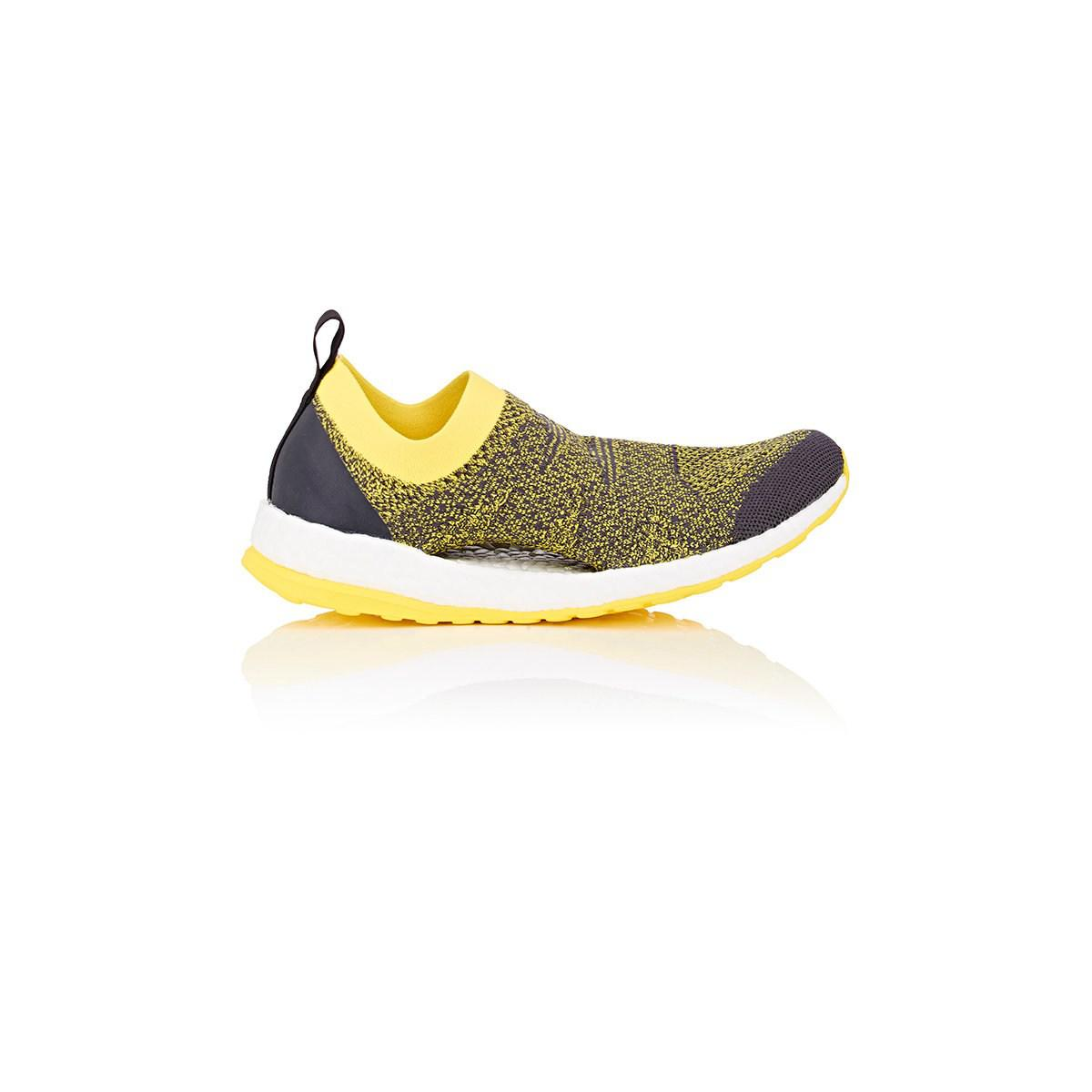 37b2377f6f617 adidas By Stella McCartney Pure Boost X Slip-on Sneakers in Yellow ...