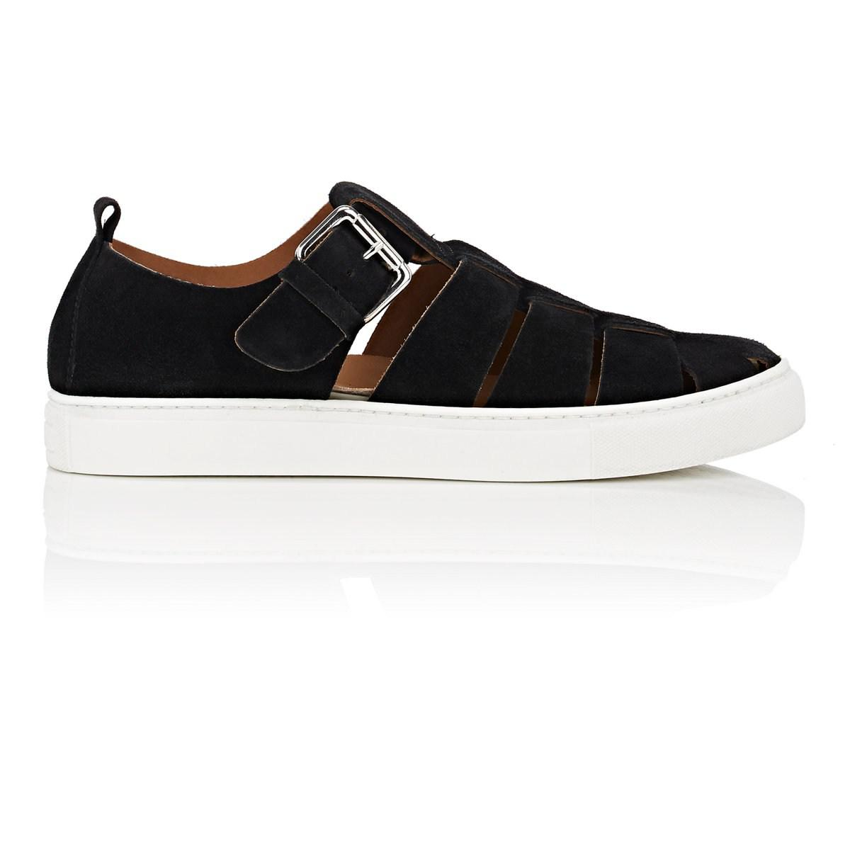 Mens Nubuck Fisherman Sneakers Barneys New York 5rDg0