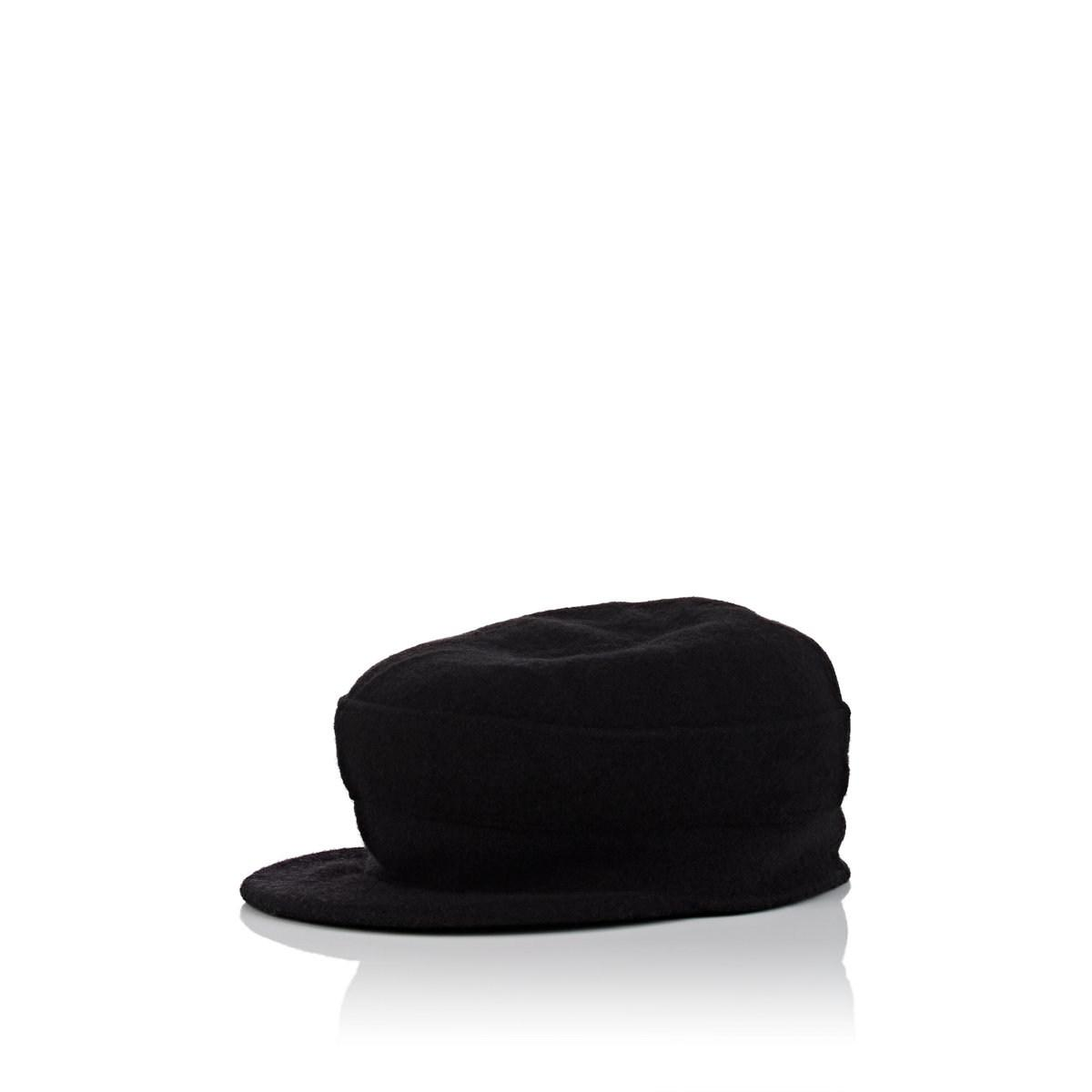34779b1941cff Lyst - Barneys New York Wool Conductor Hat in Black - Save 60%