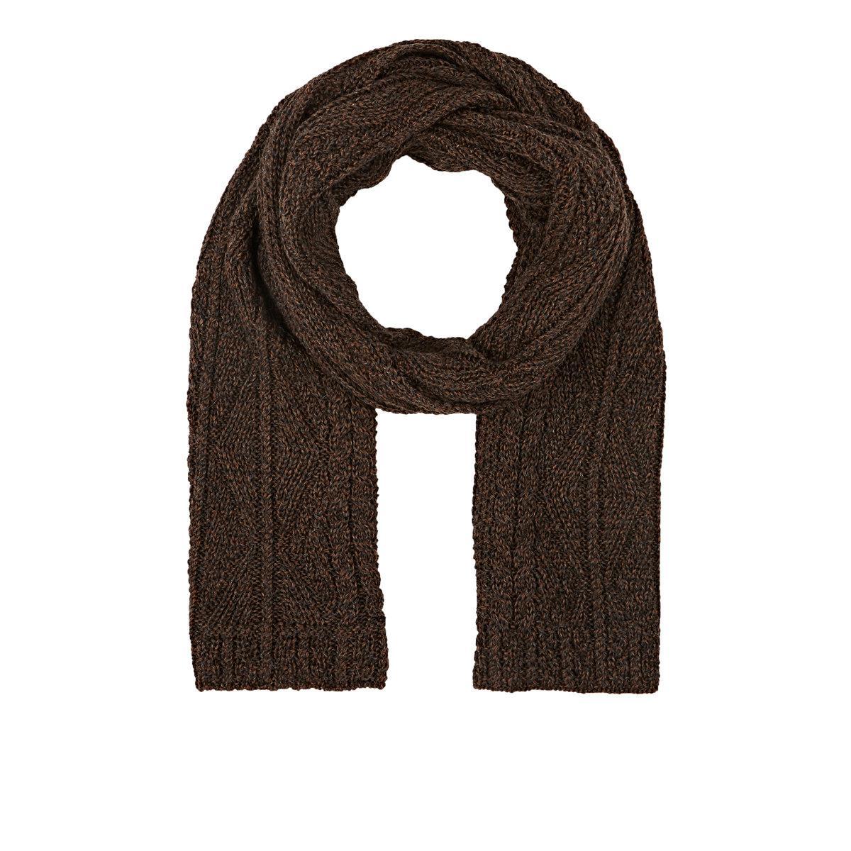 Alpaca Aran Knitting Pattern : Inis meain Aran-knit Alpaca in Brown Lyst