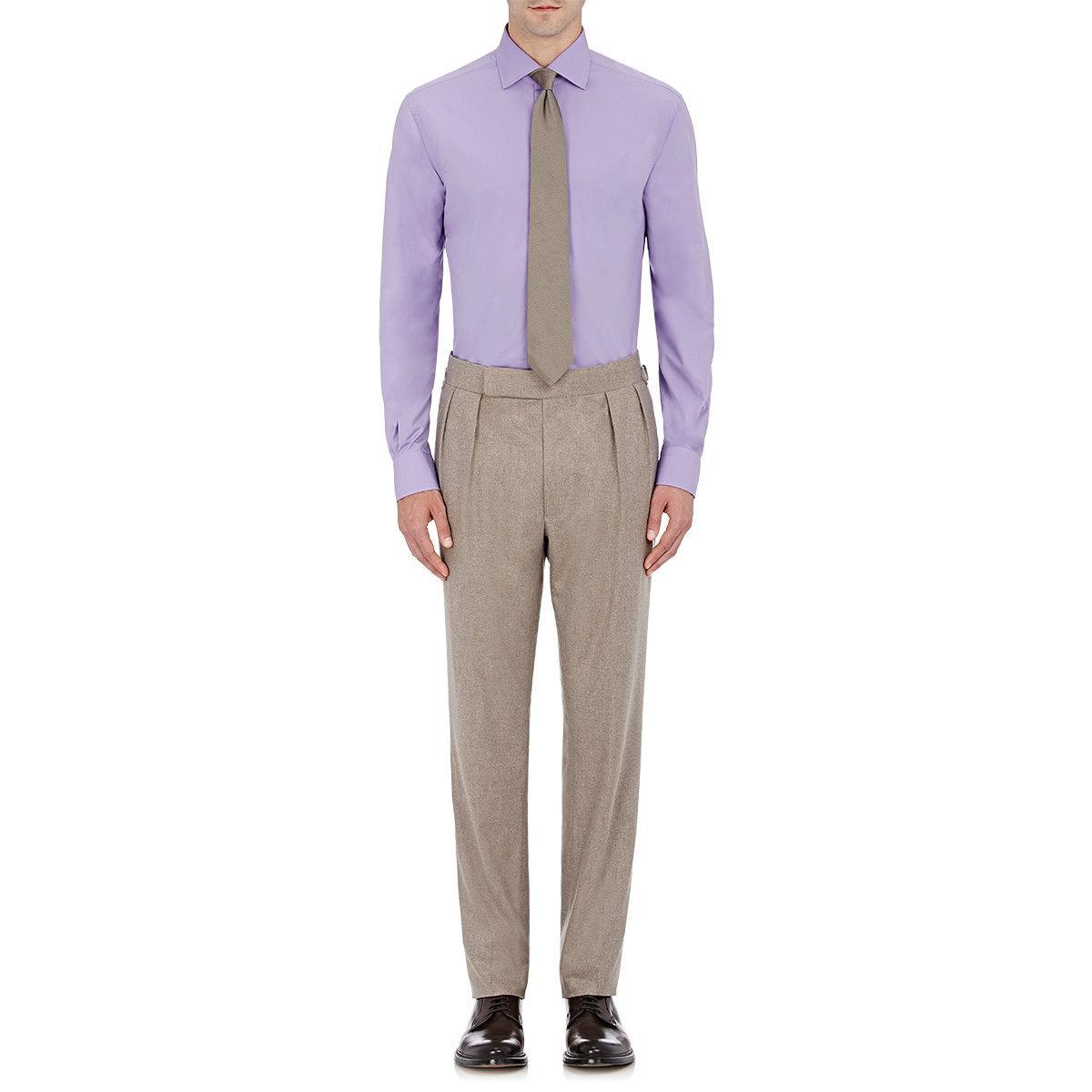 Lyst Ralph Lauren Purple Label Bond Cotton Dress Shirt