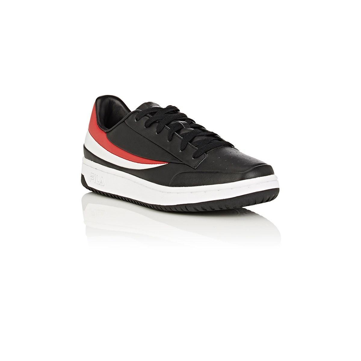 c2971e79d1ae Fila - Black Bny Sole Series  Original Tennis Leather Sneakers for Men -  Lyst. View fullscreen