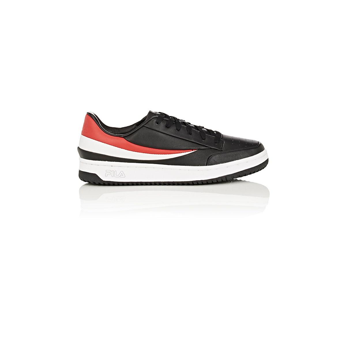 c31d06a7d968 Fila Bny Sole Series  Original Tennis Leather Sneakers in Black for ...