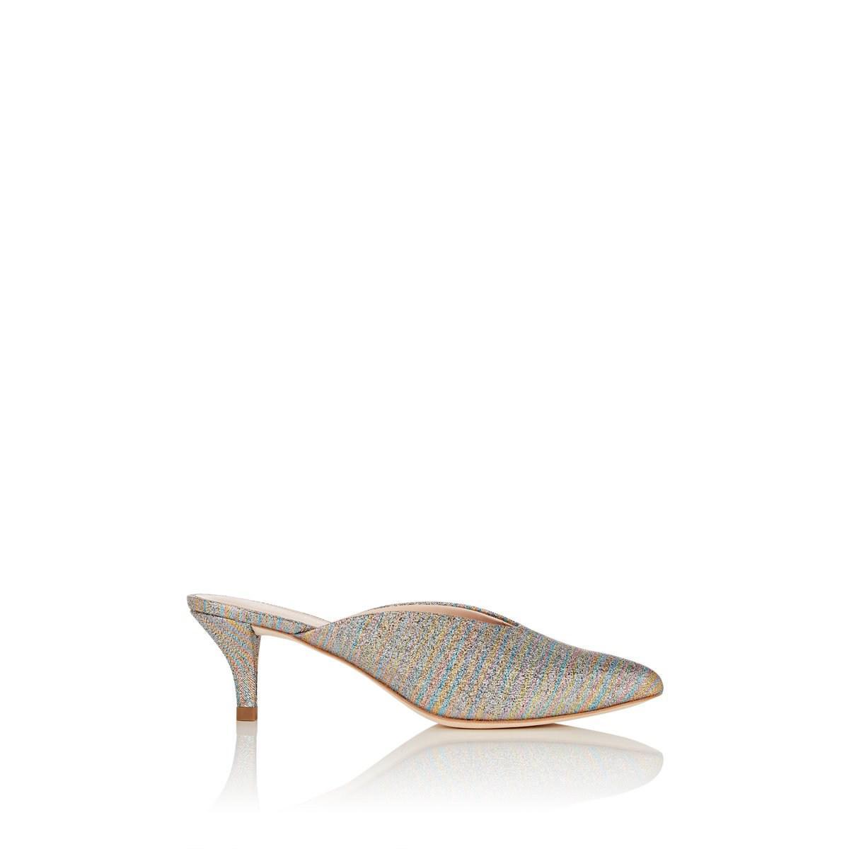 d98e8b76c6 Loeffler Randall Juno Glitter Striped Mule - Save 62% - Lyst