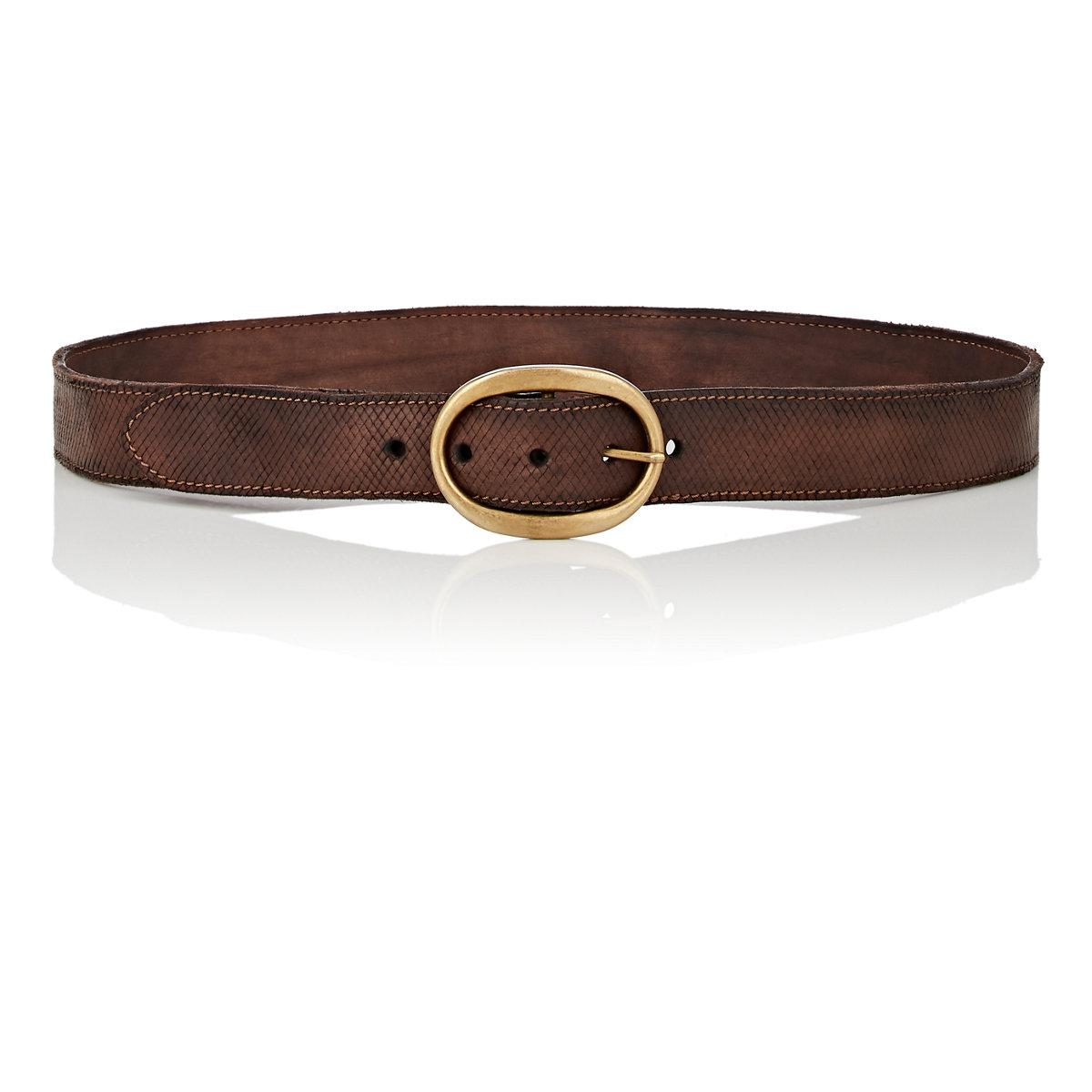 Womens Textured Leather Belt Campomaggi 8bfxVlL
