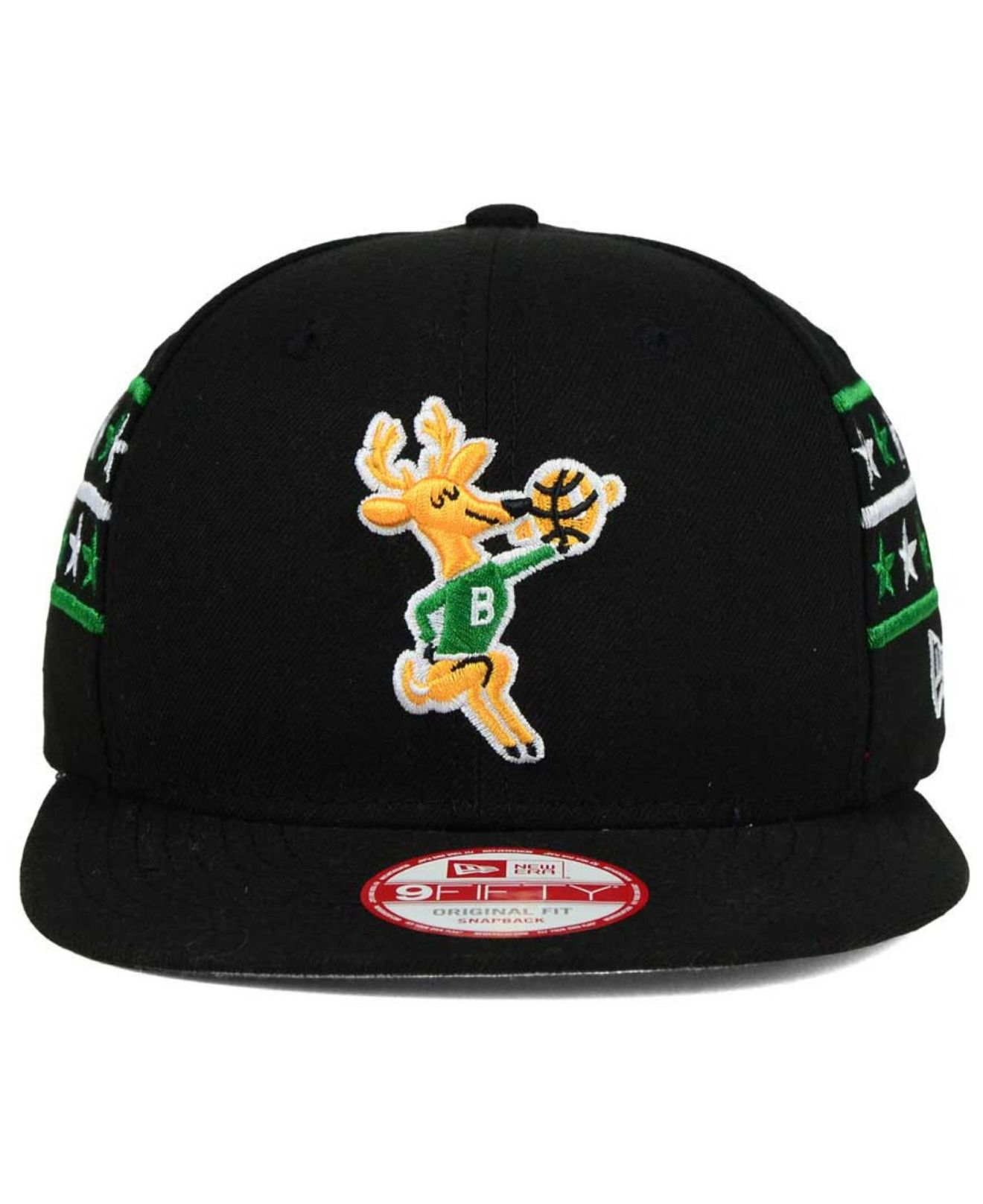 cheaper 3d8b6 6d57d Lyst - KTZ Milwaukee Bucks Fine Side 9fifty Snapback Cap in Black ...