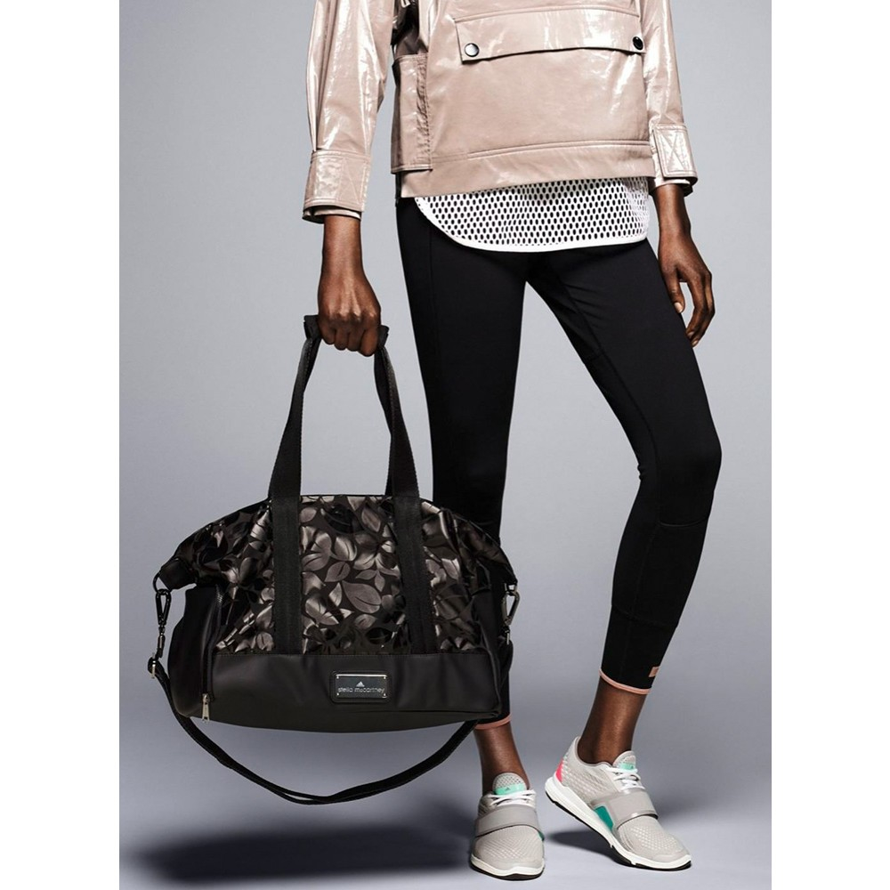 ... thoughts on 398c9 24041 Lyst - Adidas By Stella Mccartney Small Printed Gym  Bag in B ... 6c0fb2f1aa