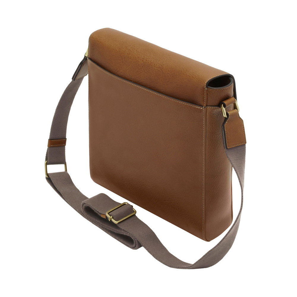 b51ba1530736 ... official mulberry maxwell slim leather messenger bag in brown for men  lyst 9dadf 0752a ...