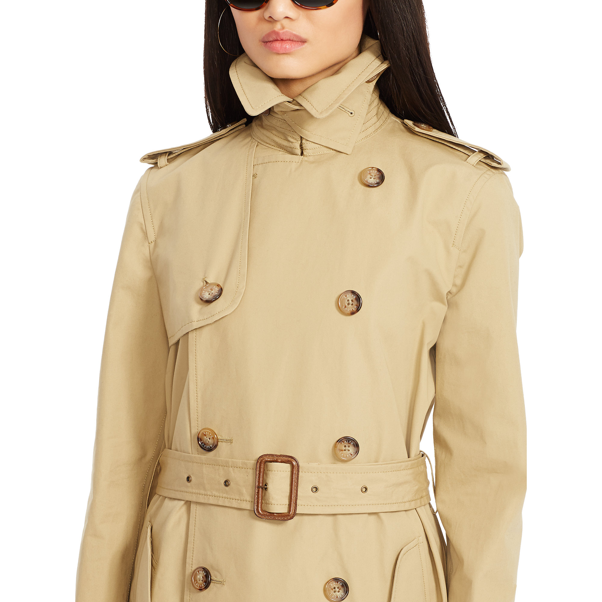 Women polo coats