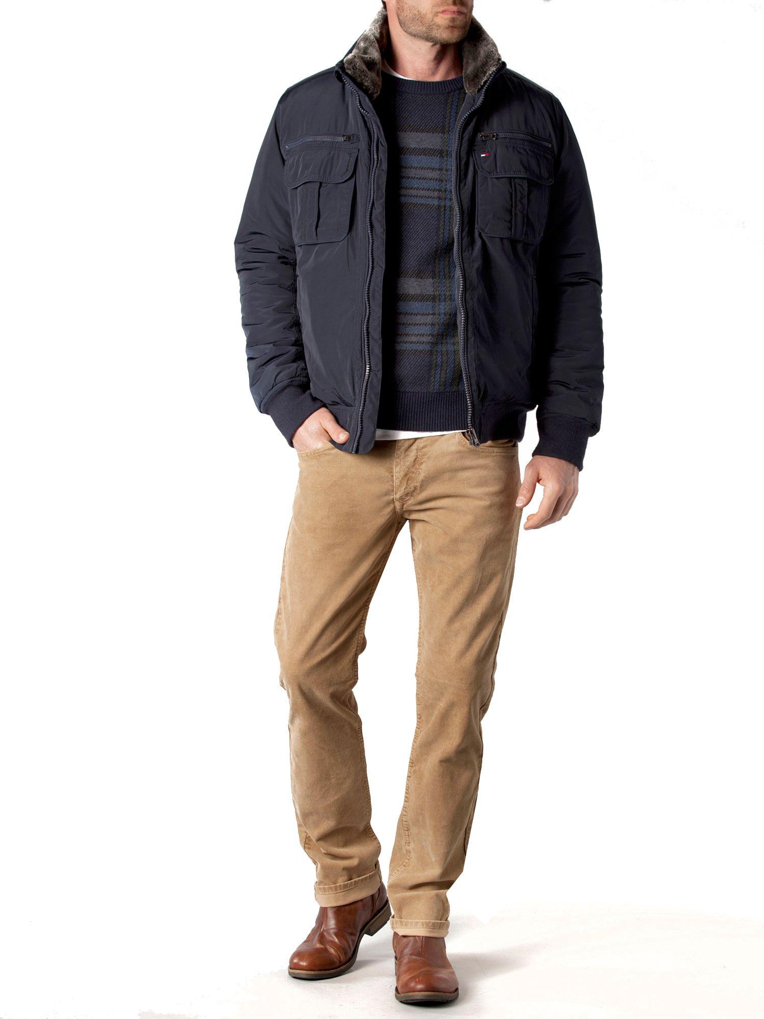 Tommy hilfiger Ken Bomber Jacket in Blue for Men | Lyst