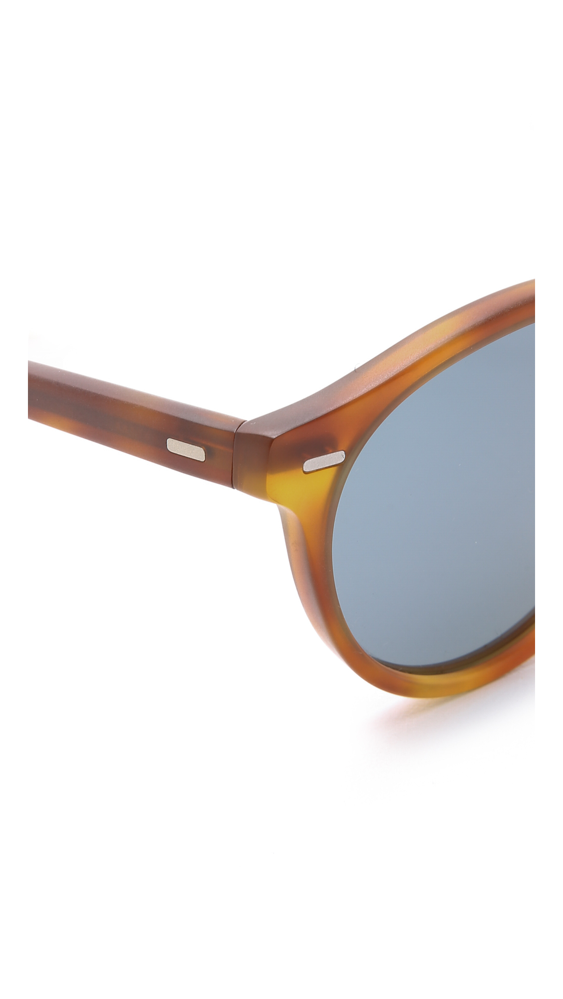 Oliver Peoples Gregory Peck Sunglasses In Brown Lyst
