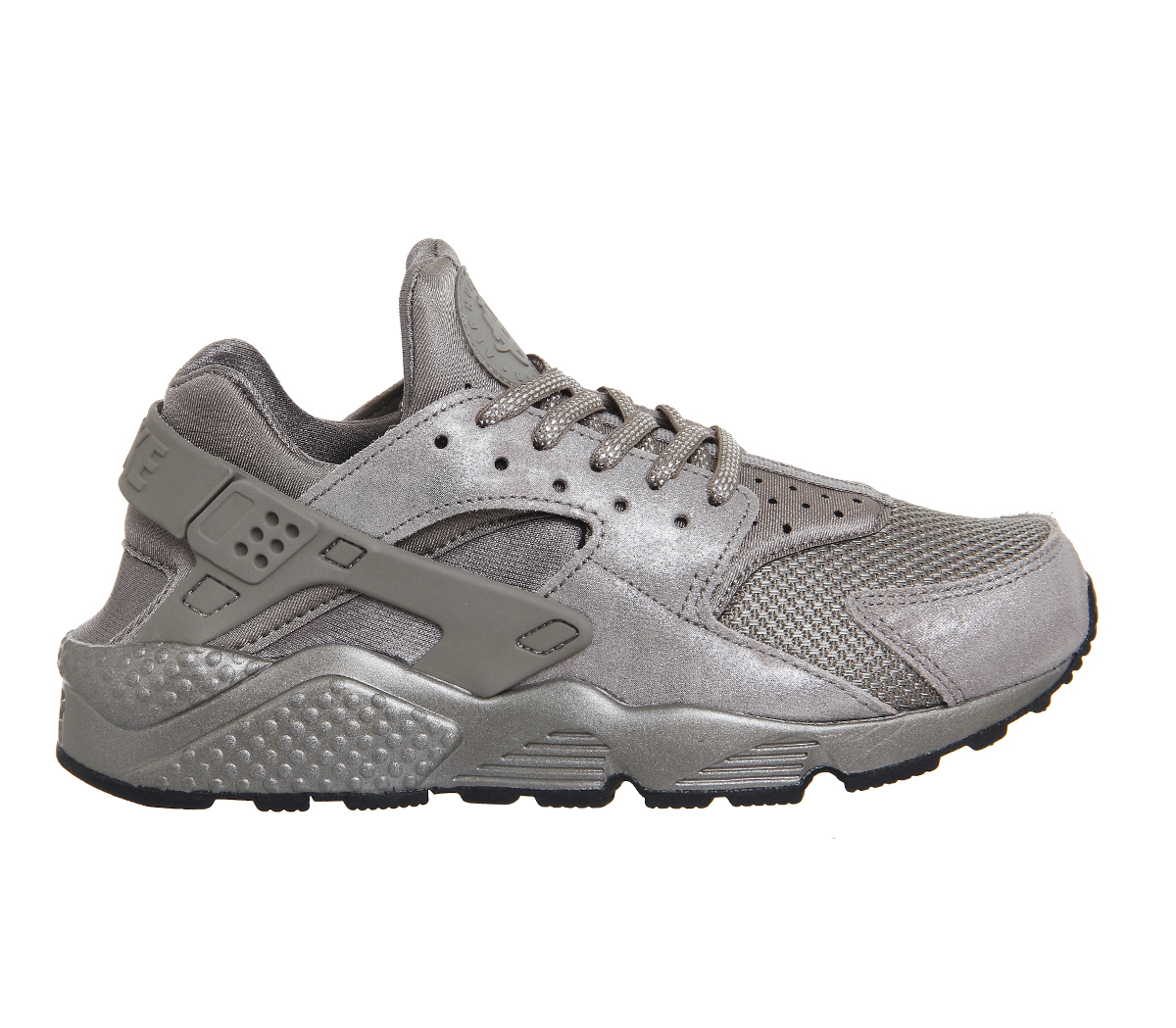 nike air huarache in silver for men lyst. Black Bedroom Furniture Sets. Home Design Ideas
