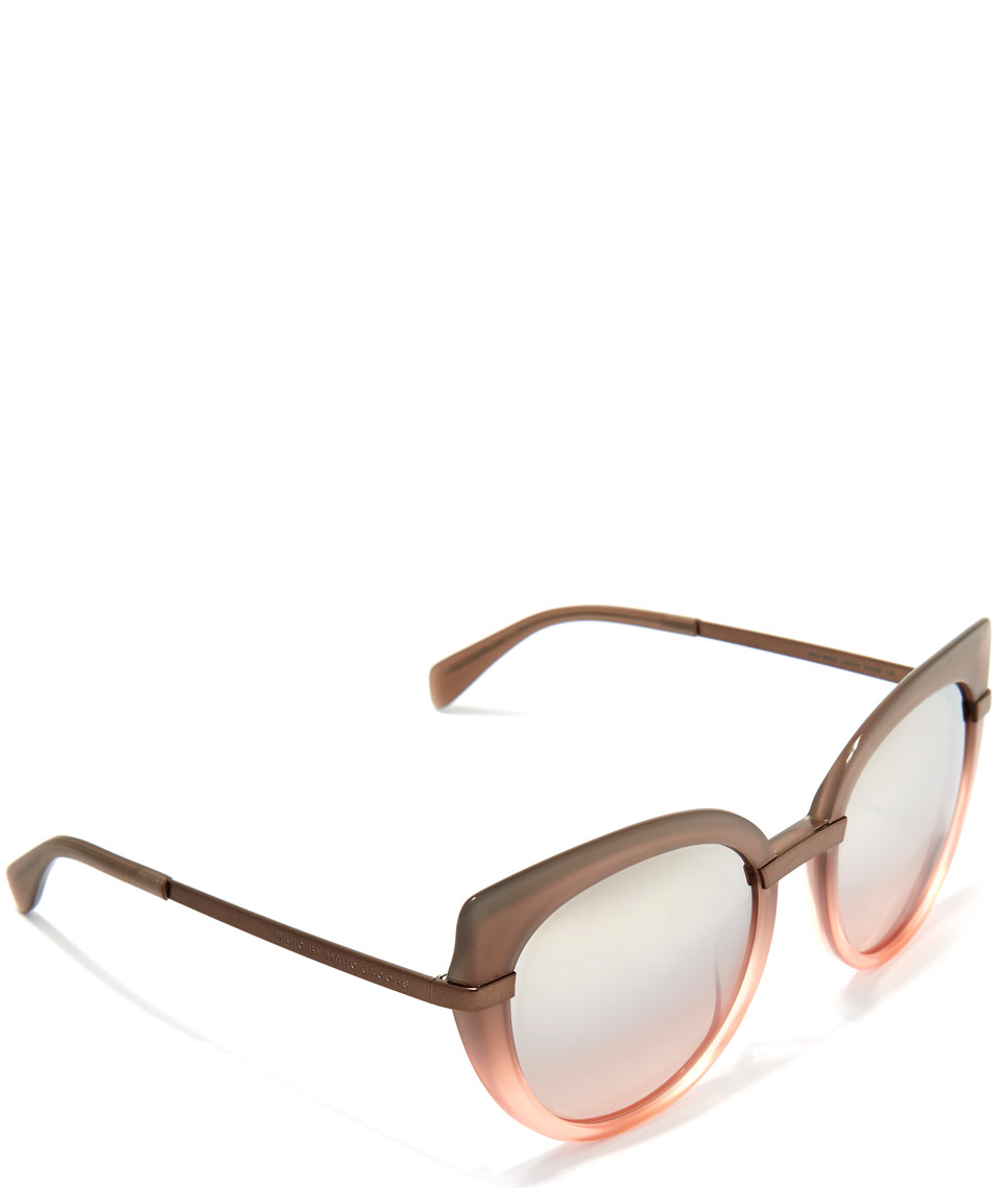 76939efce4 Marc Jacobs Blush Pink Cat Eye Sunglasses in Pink for Men - Lyst
