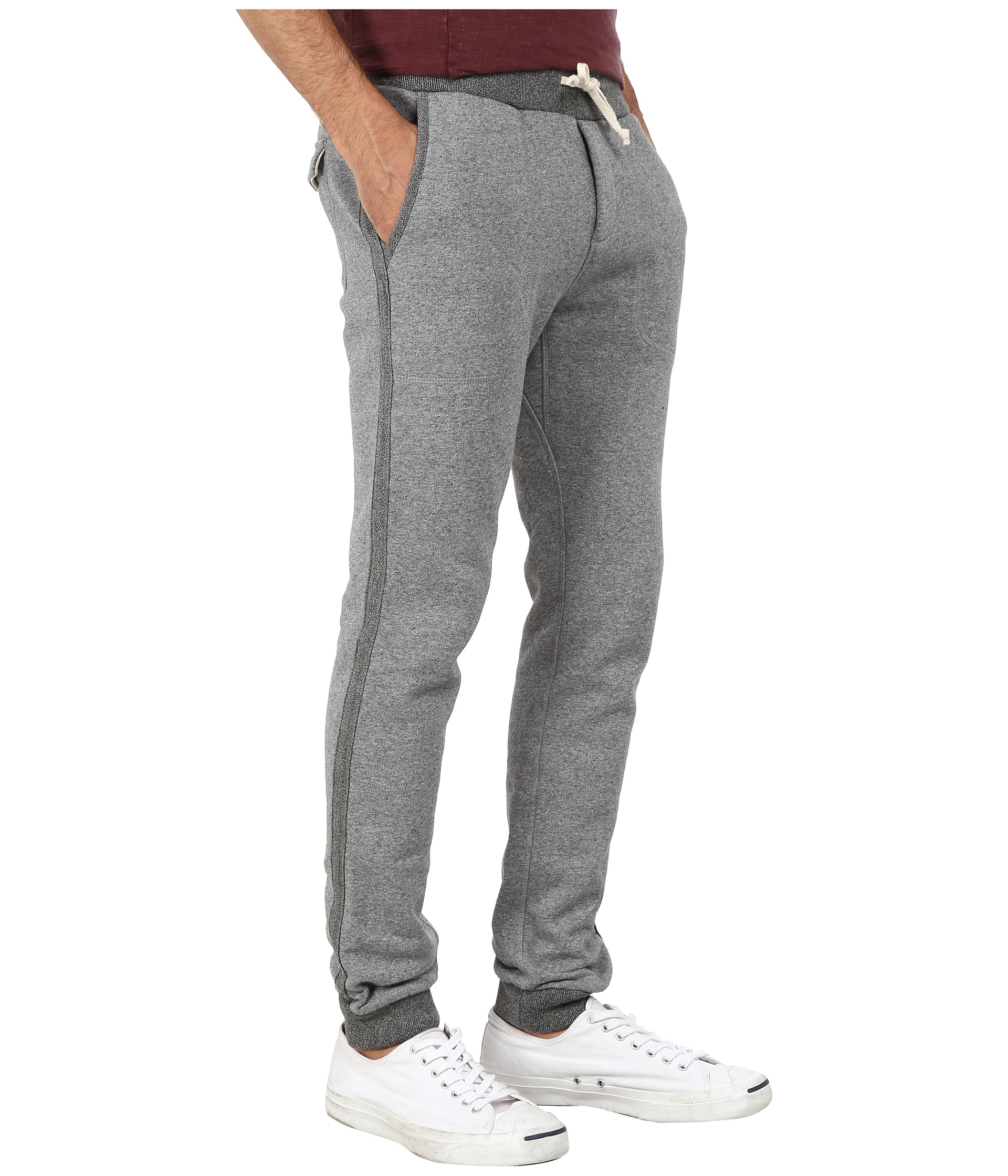 dacf23d60 Scotch & Soda Home Alone Slim Tapered Sweatpants in Gray for Men - Lyst