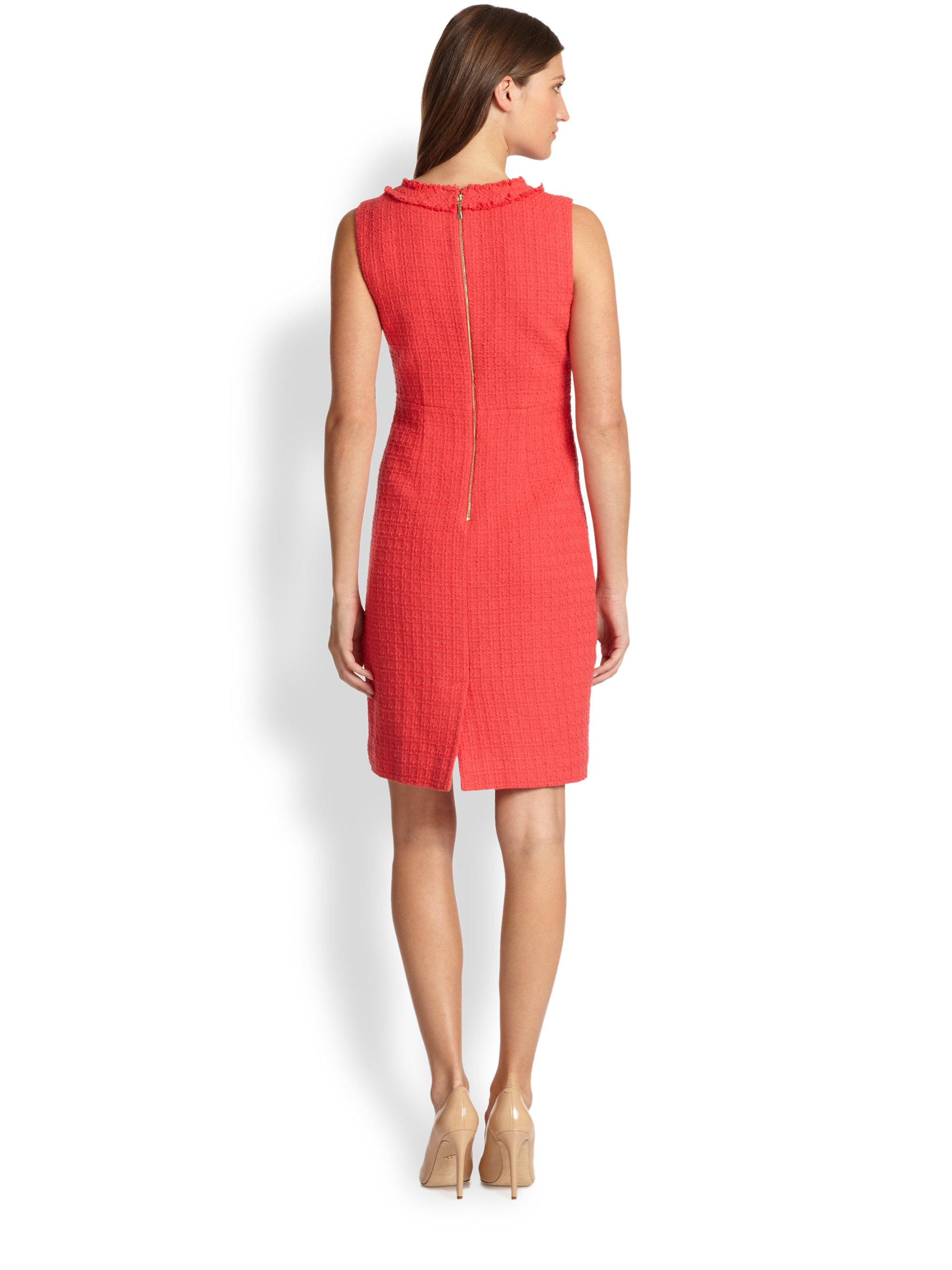 452201a9e4d Lyst - Kate Spade Terri Dress in Red