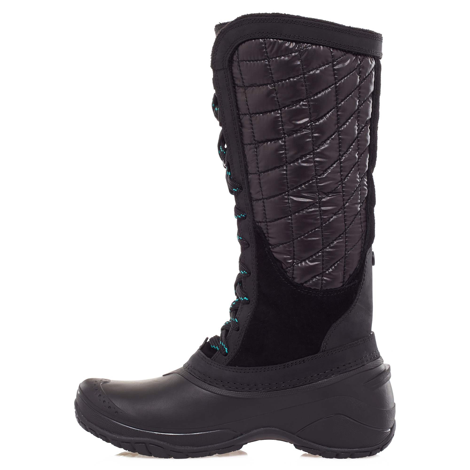 Lastest Burnetie Womens Snow Boots High DB Black  IWomenShoes