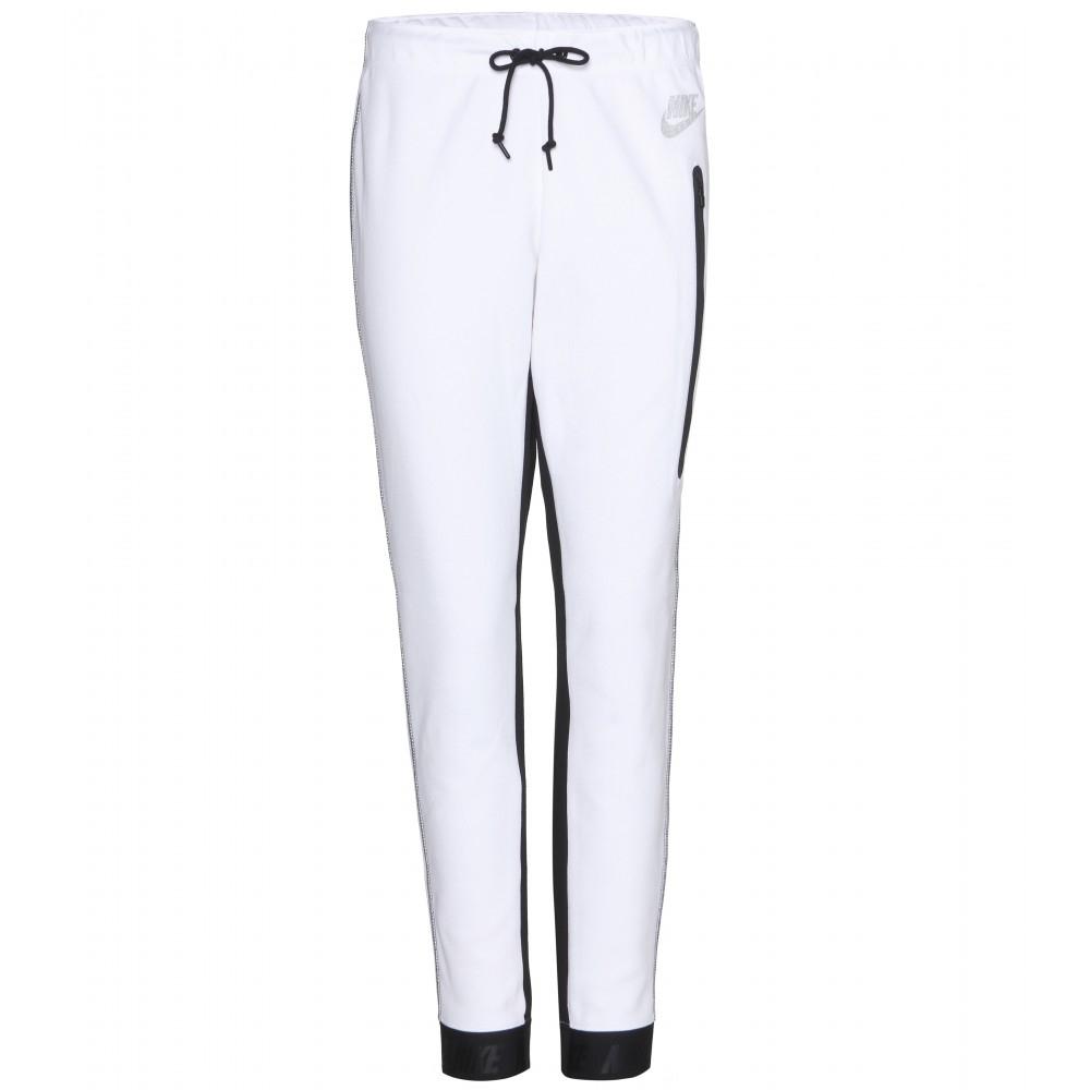 Lyst - Nike Lab Tech Fleece Track Pants in White a2ce02633