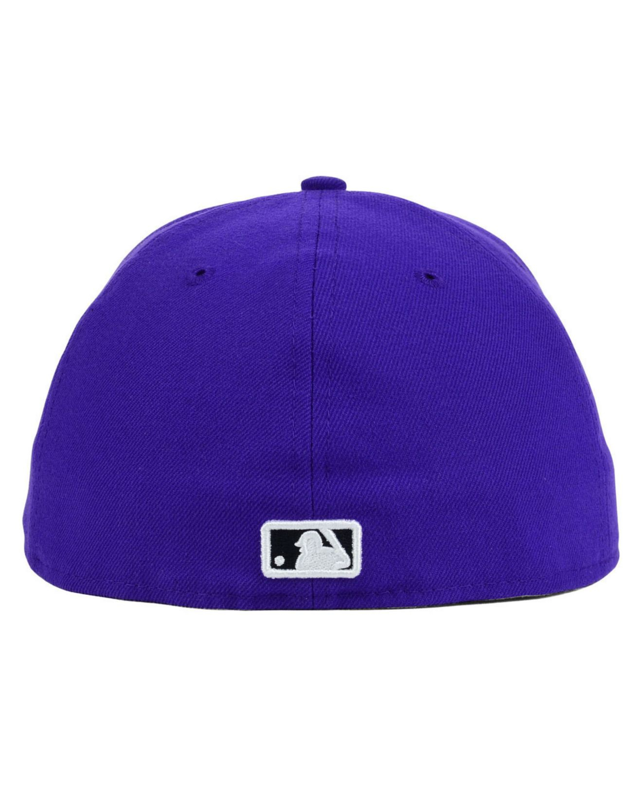 ... sale lyst ktz kansas city royals c dub 59fifty cap in purple 7eda3 50e99 3db4f3a9c88