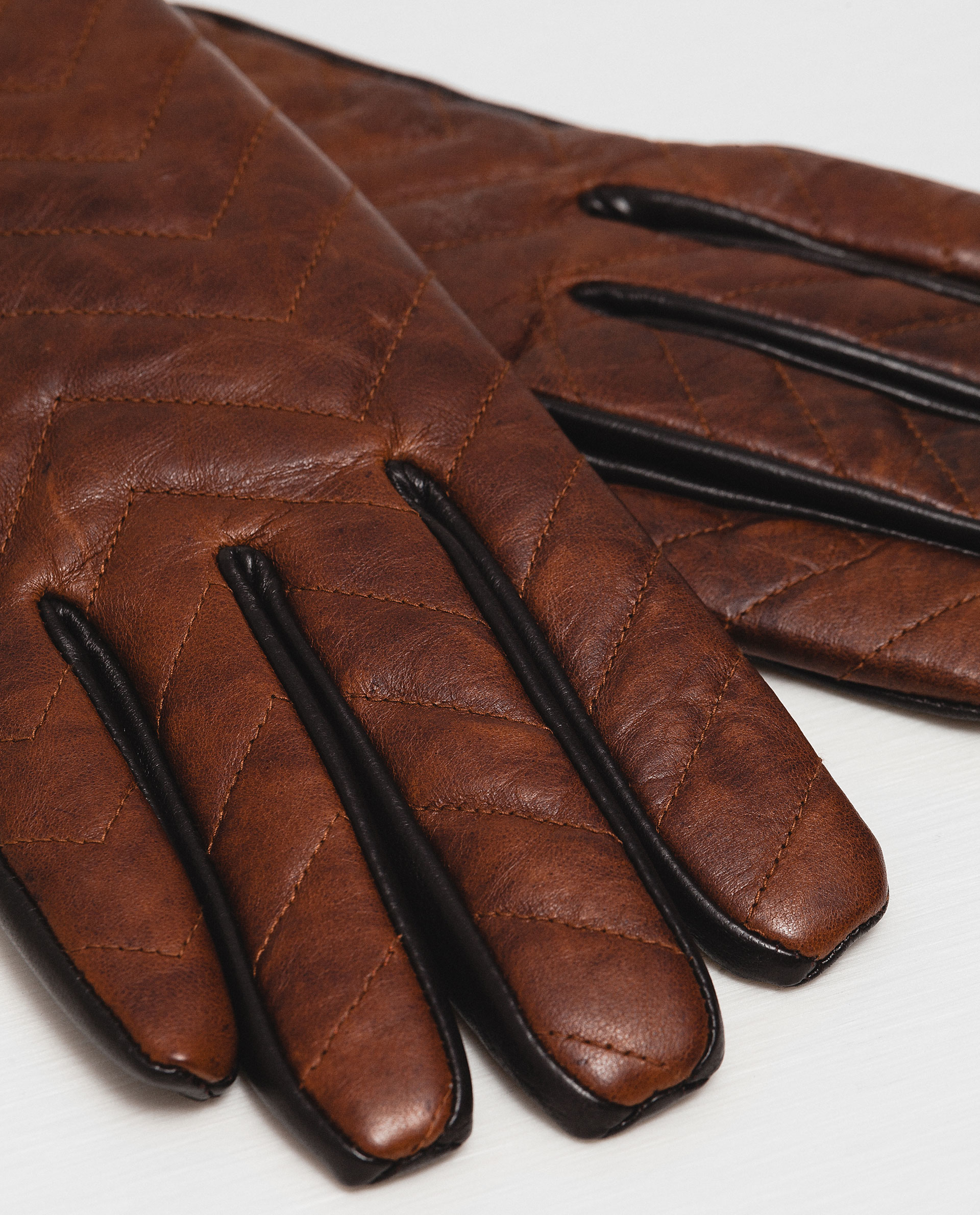 Mens leather gloves topman - Gallery