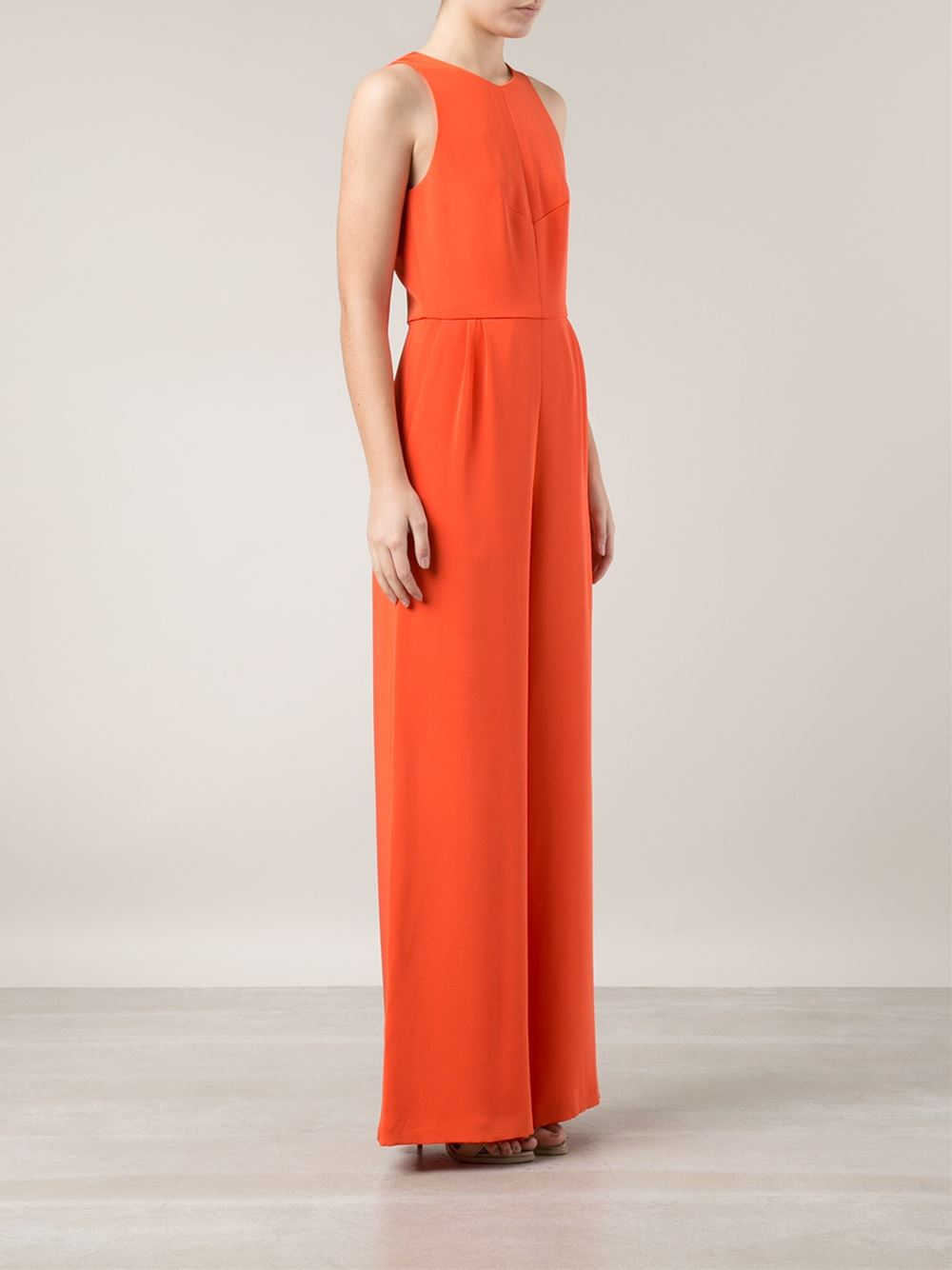 0c873b1349 Lyst - Novis Wide Leg Jumpsuit in Orange