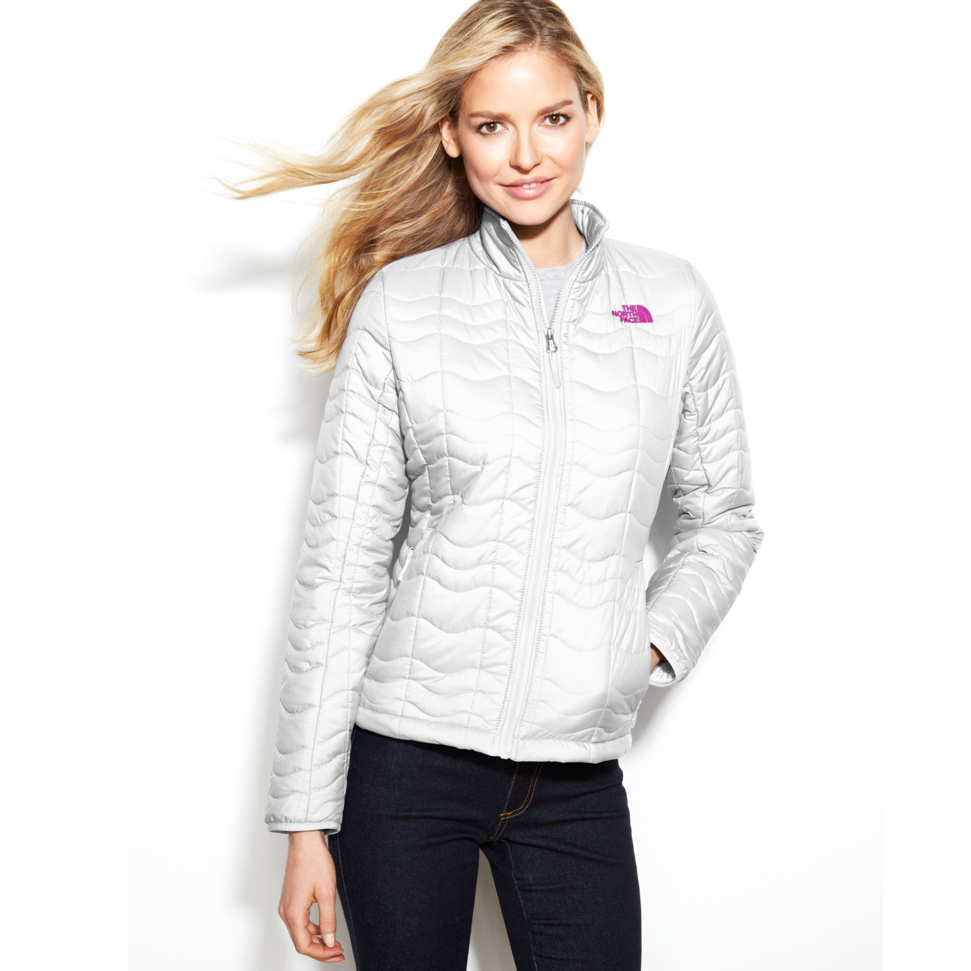 356b6f482c Lyst - The North Face Bombay Quilted Jacket in White