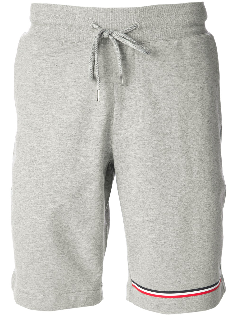 50165bfb5 Lyst - Moncler Sweatshorts in Gray for Men