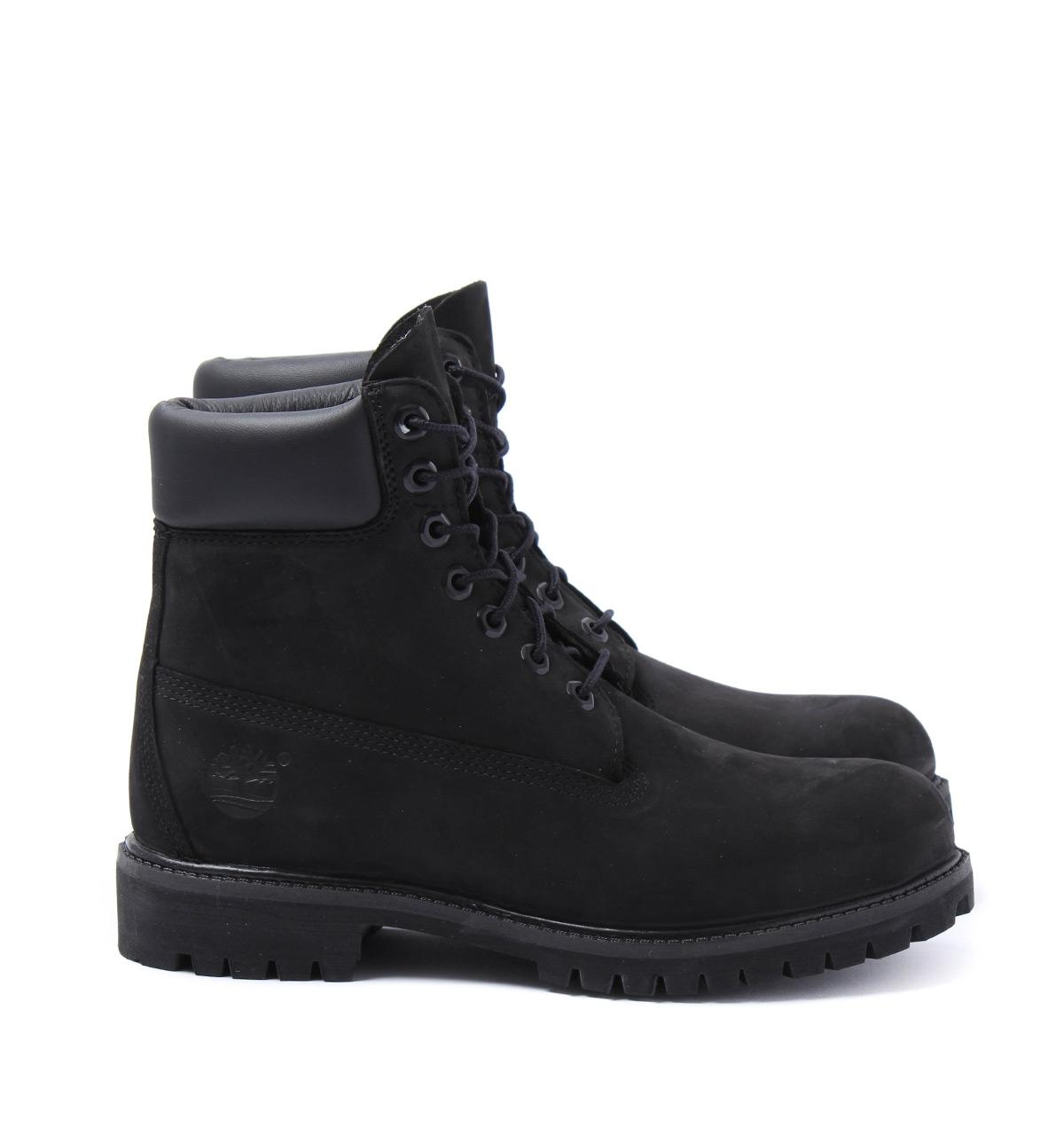 730636512f9 Timberland - Icon Black 6-inch Premium Wide Fit Boots for Men - Lyst. View  fullscreen