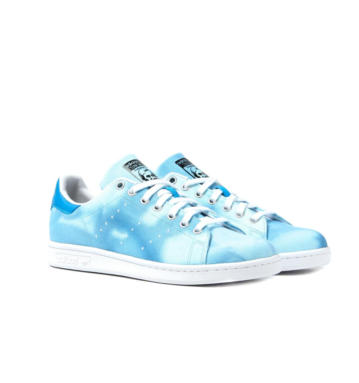 newest 03762 33a1c adidas Originals Pharrell X Adidas Blue Hu Holi Stan Smith ...