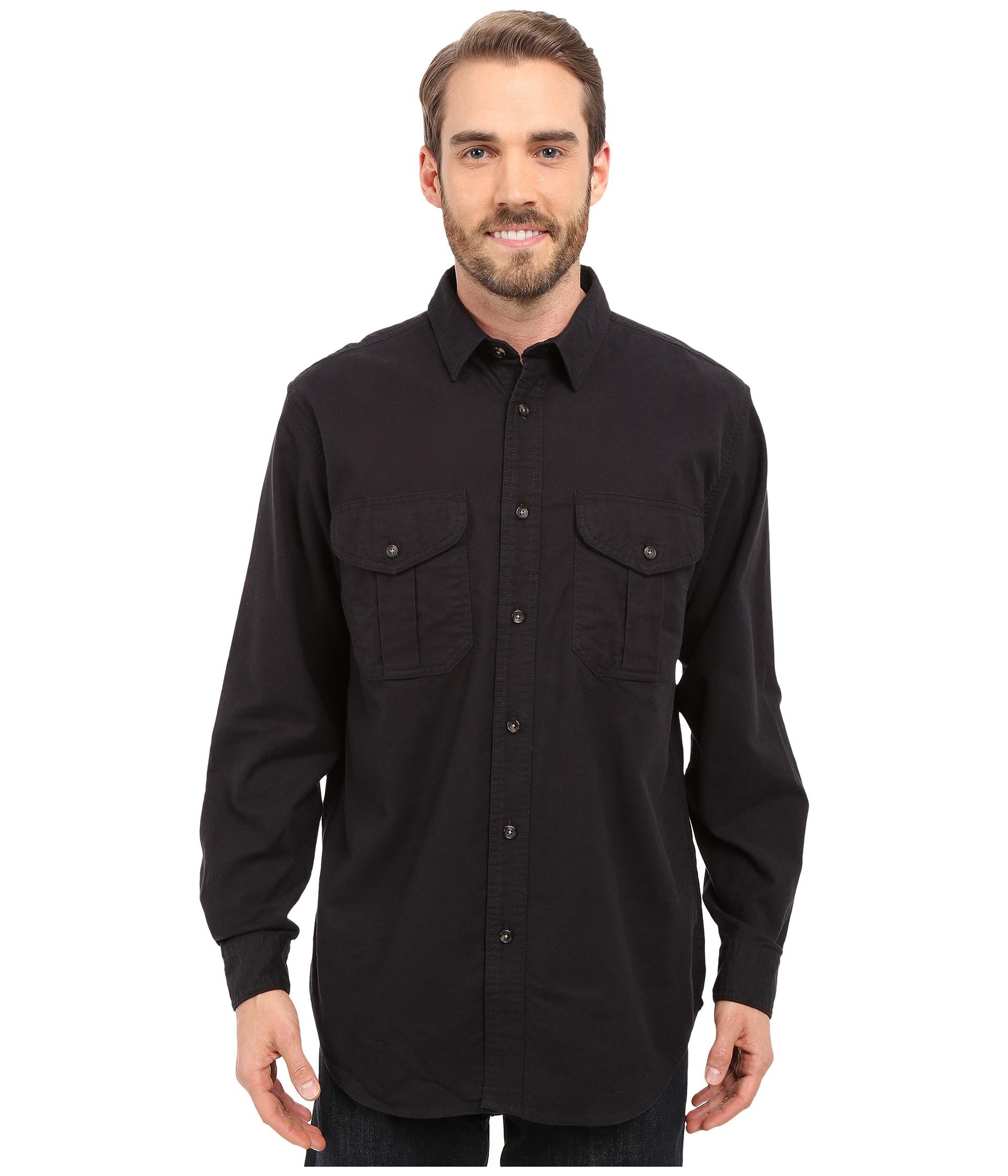 Filson Extra Long Alaskan Guide Shirt In Blue For Men Lyst