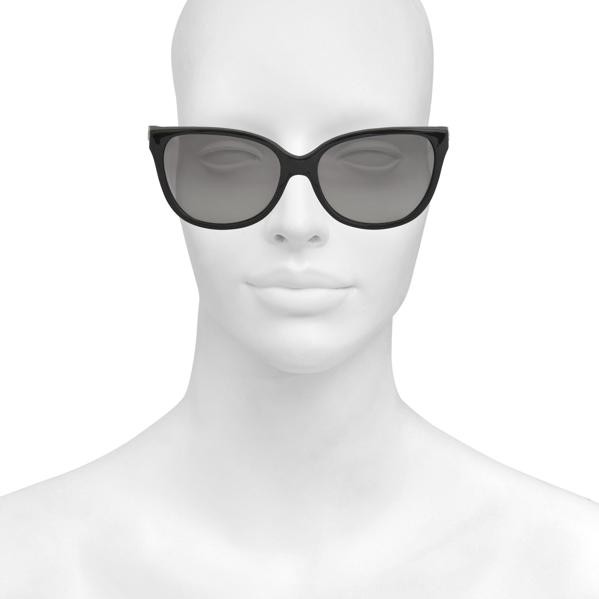 ce9ba22d3fd Lyst - Michael Kors Marrakesh Black Sunglasses Mk6006 in Black