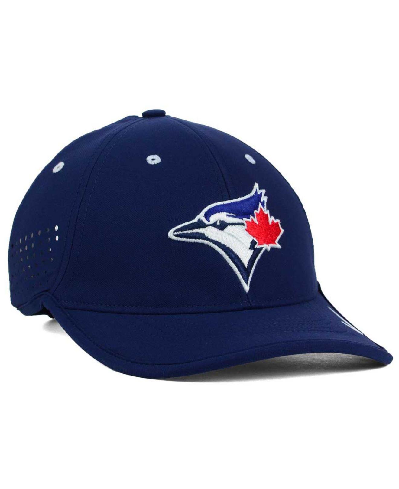 42a7e810661 ... canada lyst nike toronto blue jays vapor swoosh adjustable cap in red  for men 1f4d8 9caec