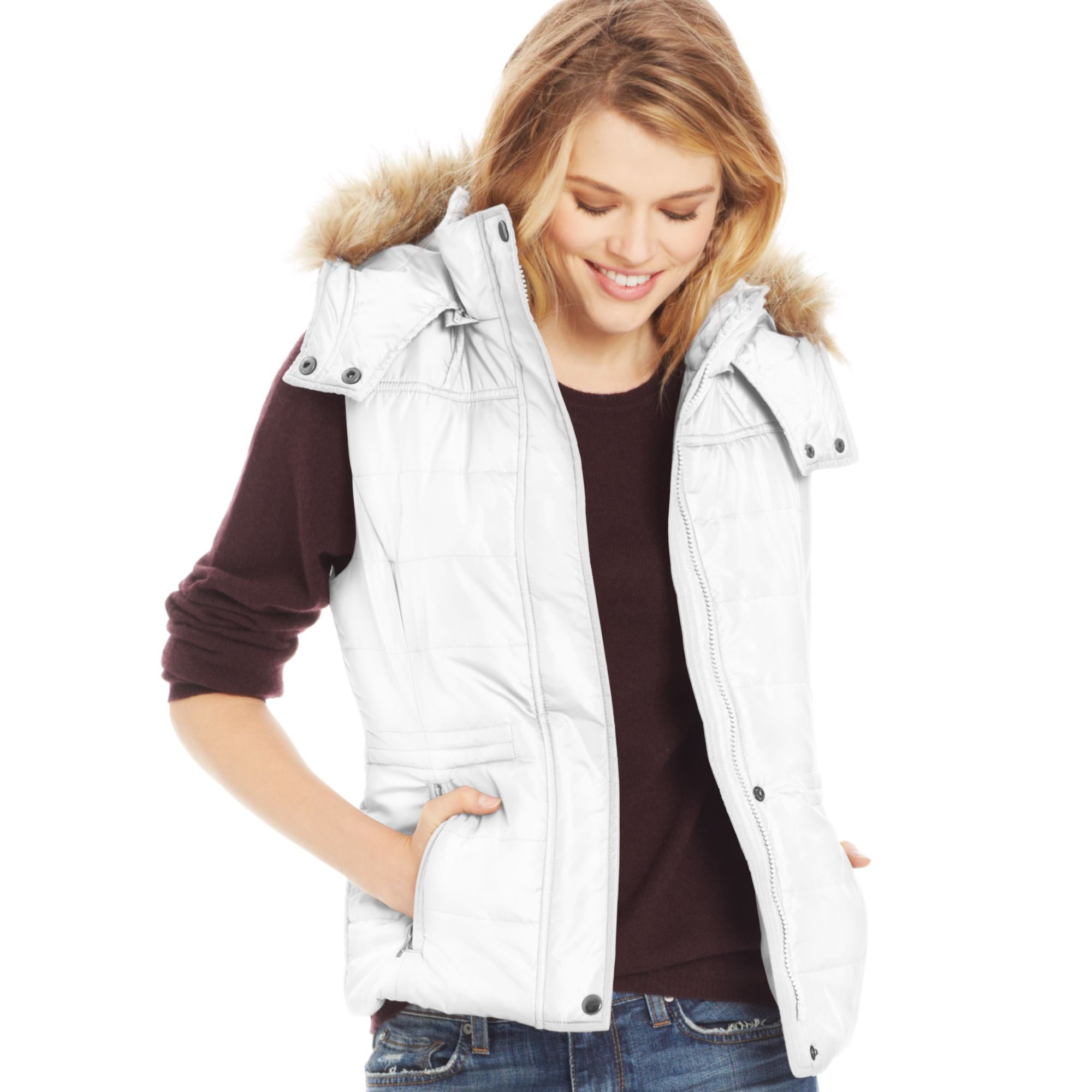 Find white puffer vest at ShopStyle. Shop the latest collection of white puffer vest from the most popular stores - all in one place.