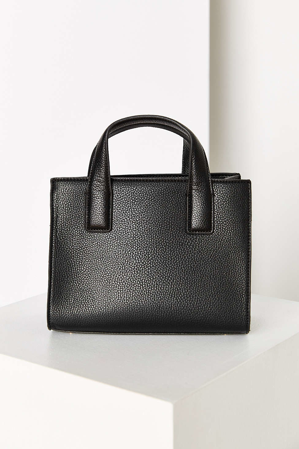 Cooperative Structured Mini Tote Bag in Black | Lyst