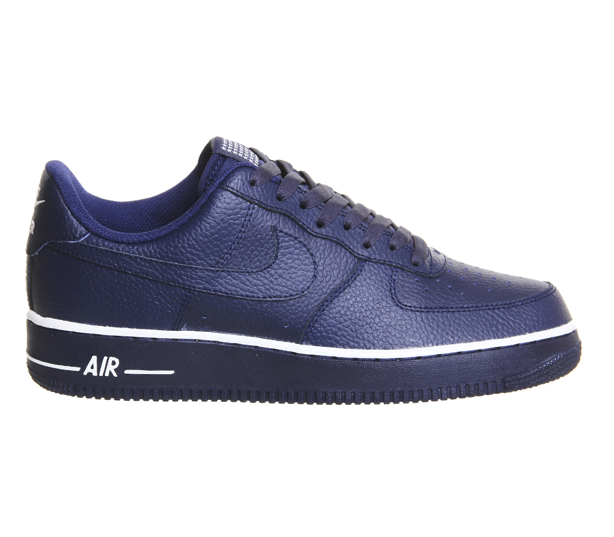lyst nike air force one m in blue for men. Black Bedroom Furniture Sets. Home Design Ideas
