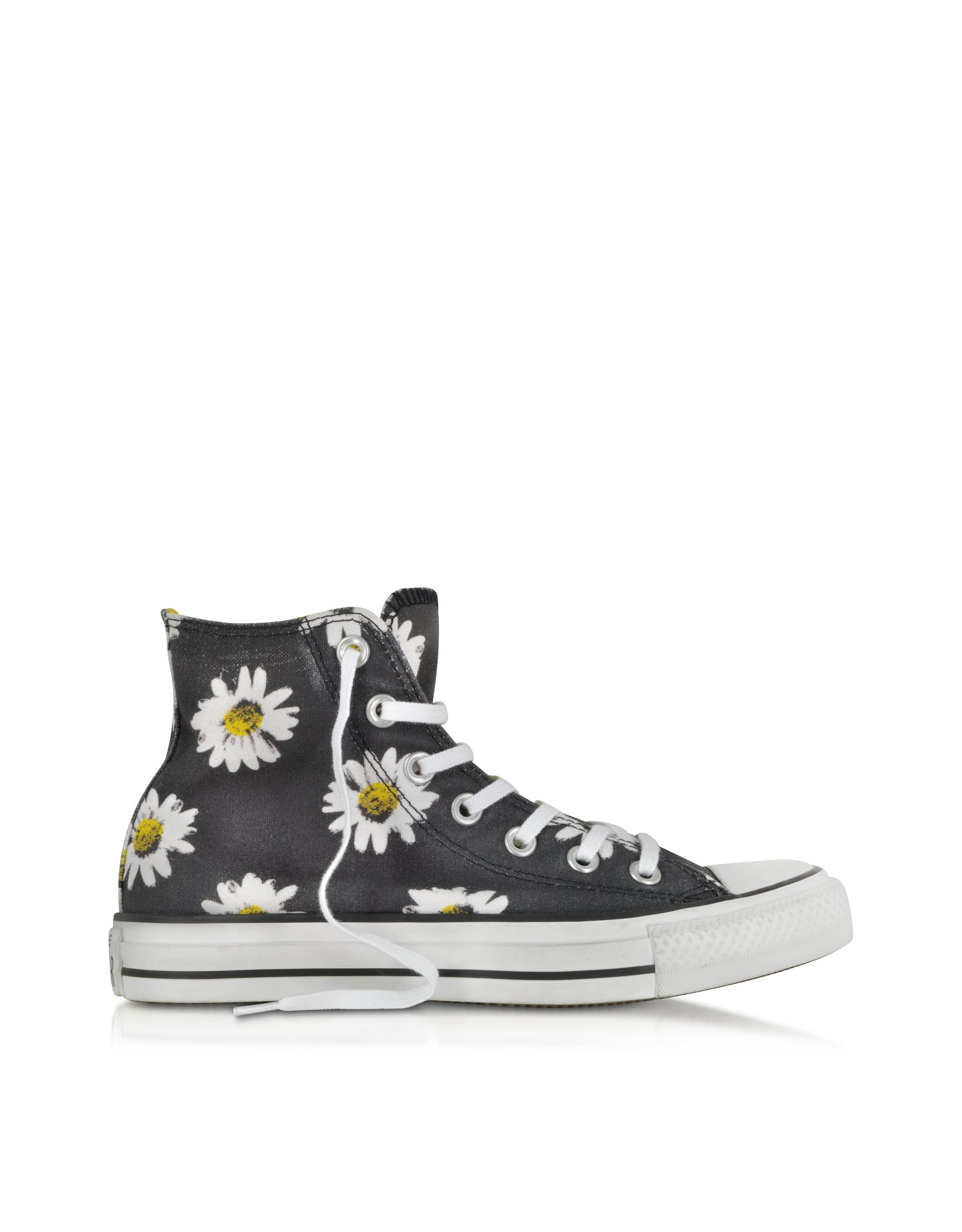 Lyst Converse Chuck Taylor All Star Black And Citrus