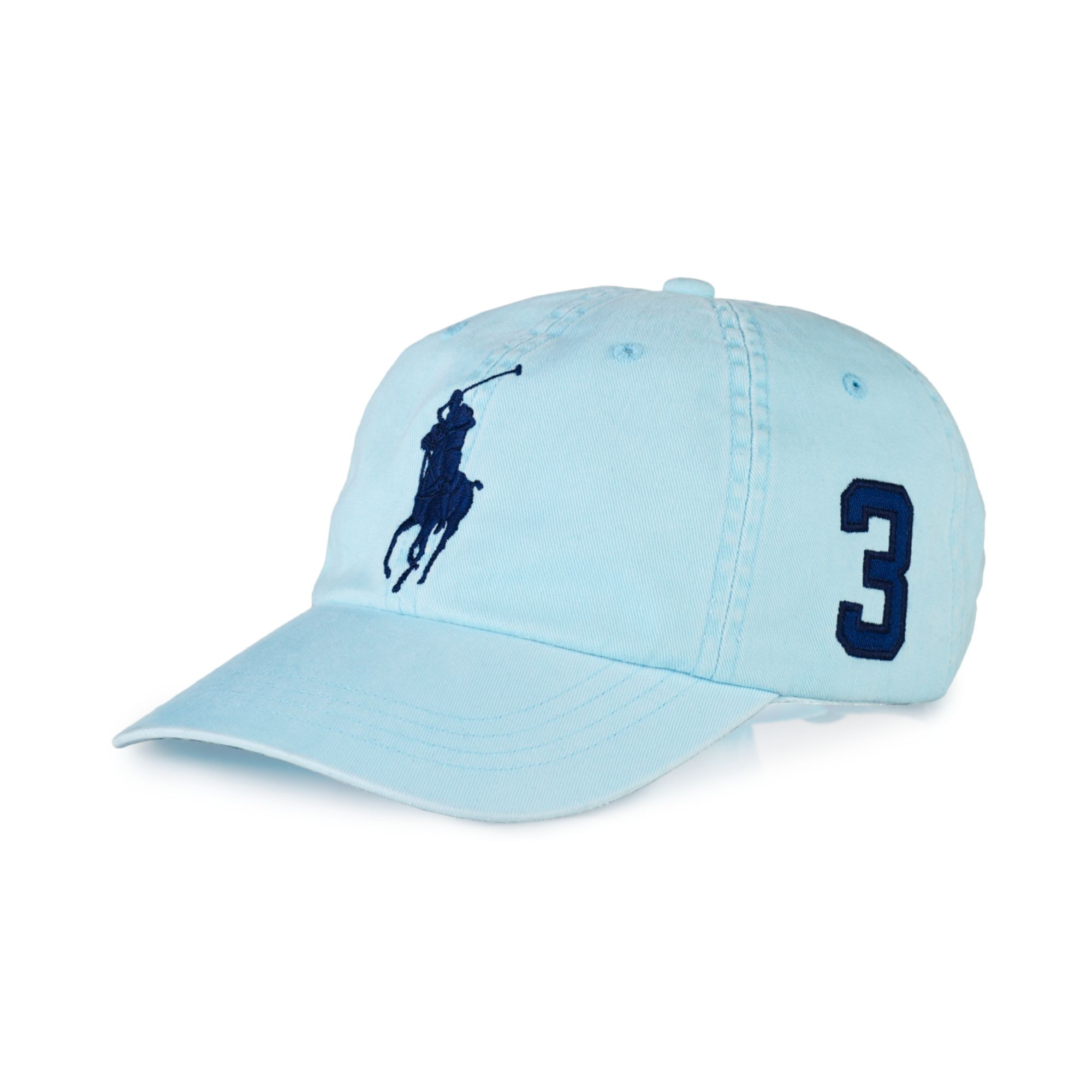 d3a02b6dda2 Lyst - Ralph Lauren Polo Classic Chino Sports Cap in Blue for Men