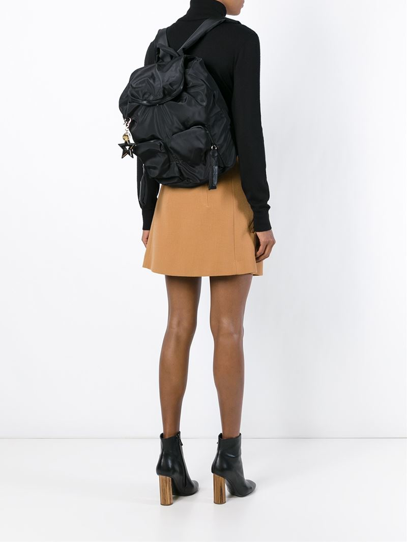 Lyst - See By Chloé  joy Rider  Backpack in Black 8f3488333f5e0